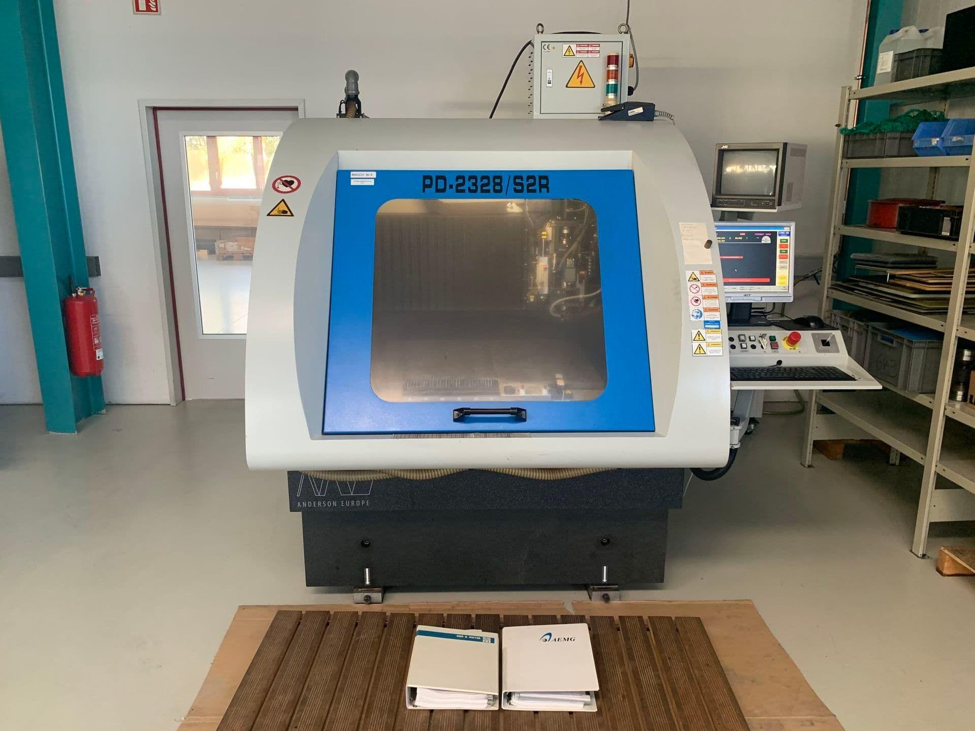 ANDERSON PD 2328 / S2R CNC Bohrfräsmaschine
