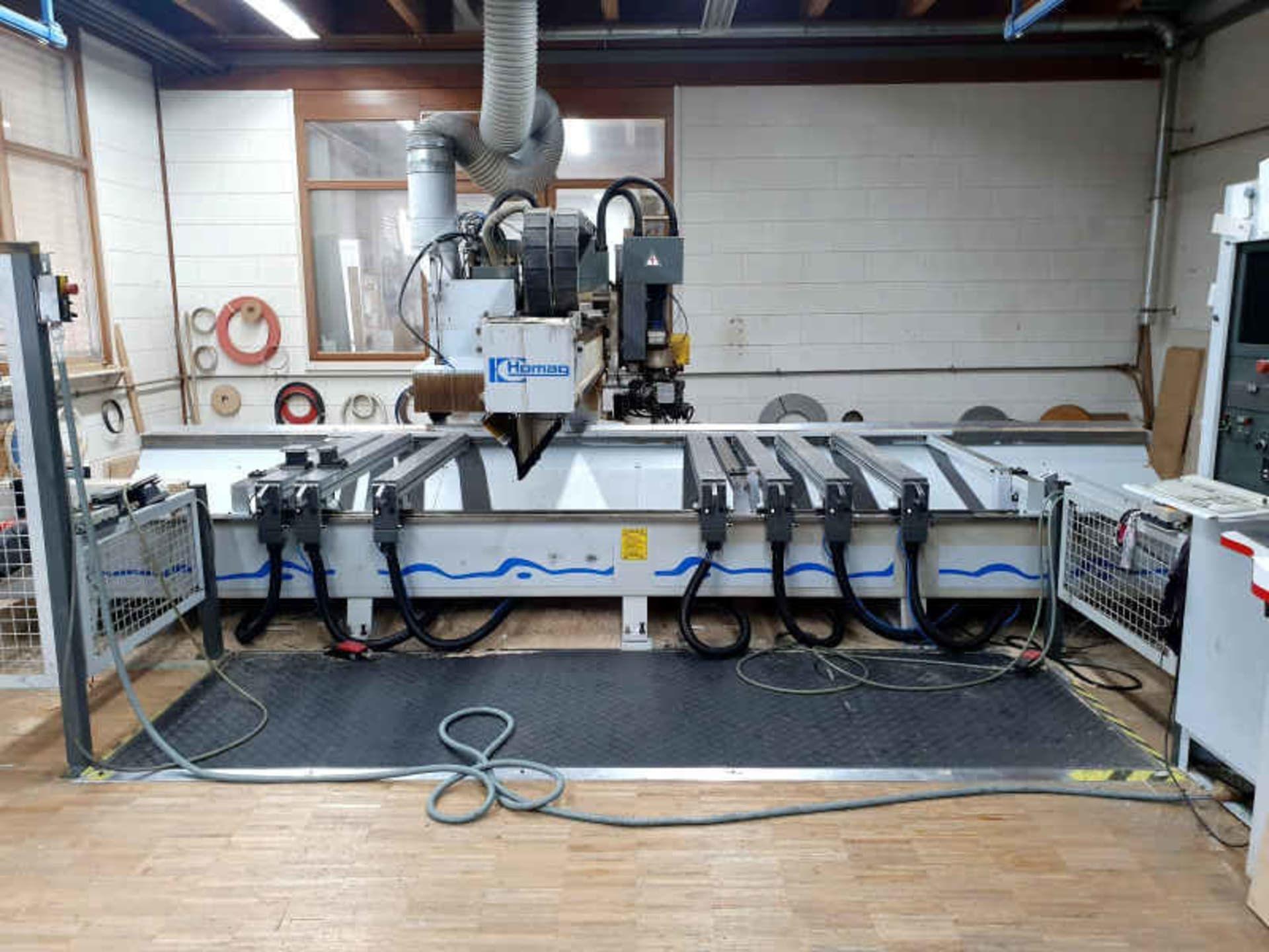 HOMAG Genius BAZ20 / 30/16 / V / K CNC-Bearbeitungszentrum
