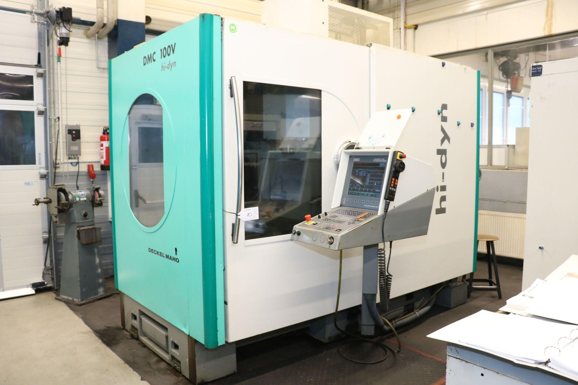 DECKEL MAHO DMC 100 V hi-dyn Vertikal-Bearbeitungszentrum