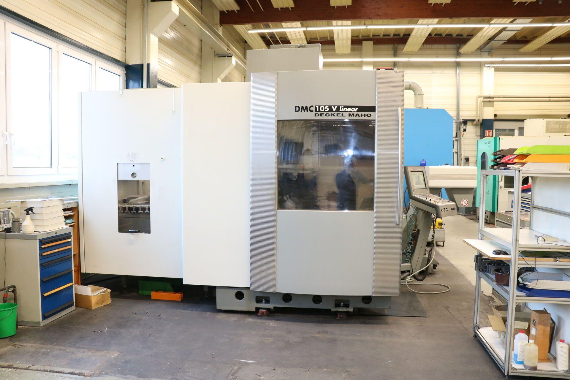 DECKEL MAHO DMC 105 V lineal 5-Achs-Universal-Bearbeitungszentrum