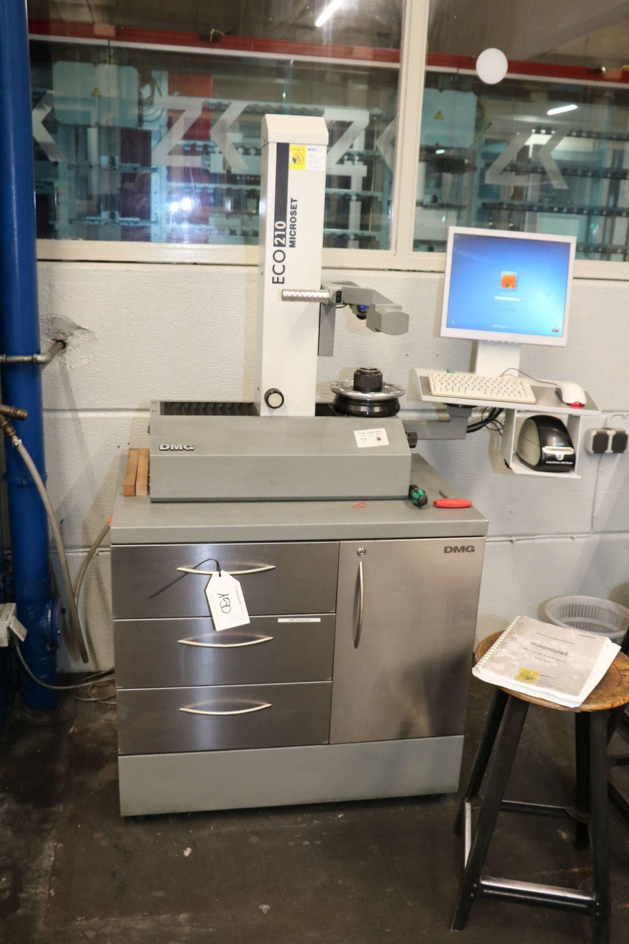 DMG MICROSET ECO 210 Werkzeugeinstellgerät