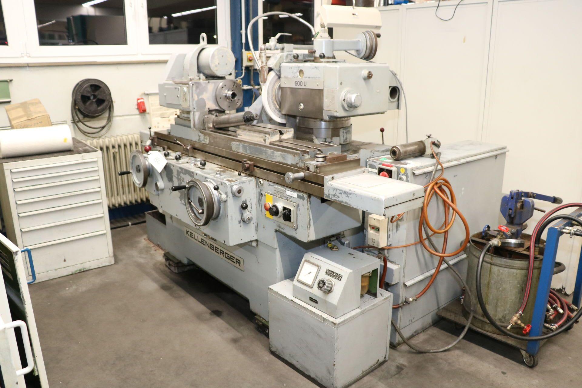 KELLENBERGER 600 U Universal-Rundschleifmaschine