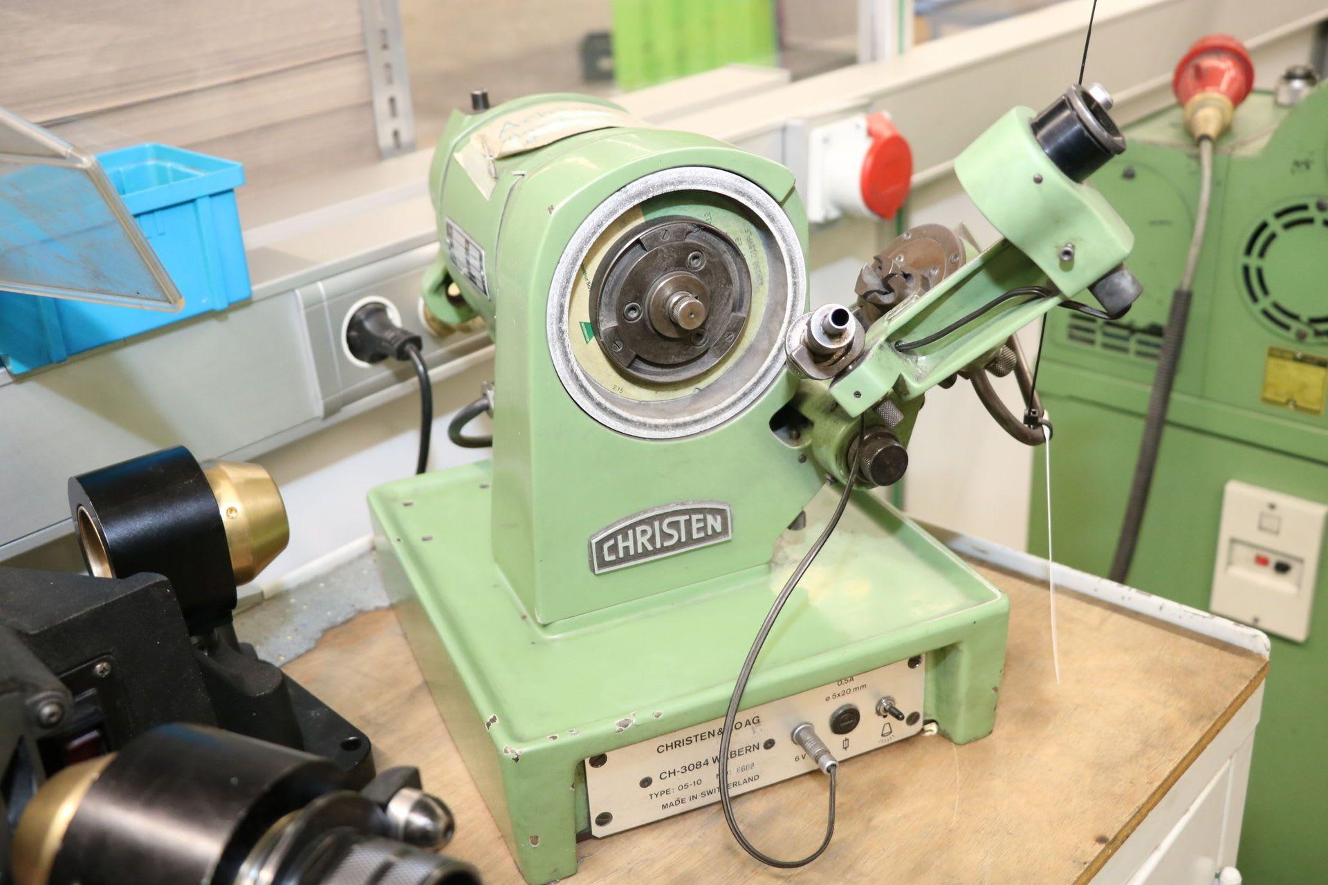 CHRISTEN 05-10 Spiralbohrer-Schleifmaschine