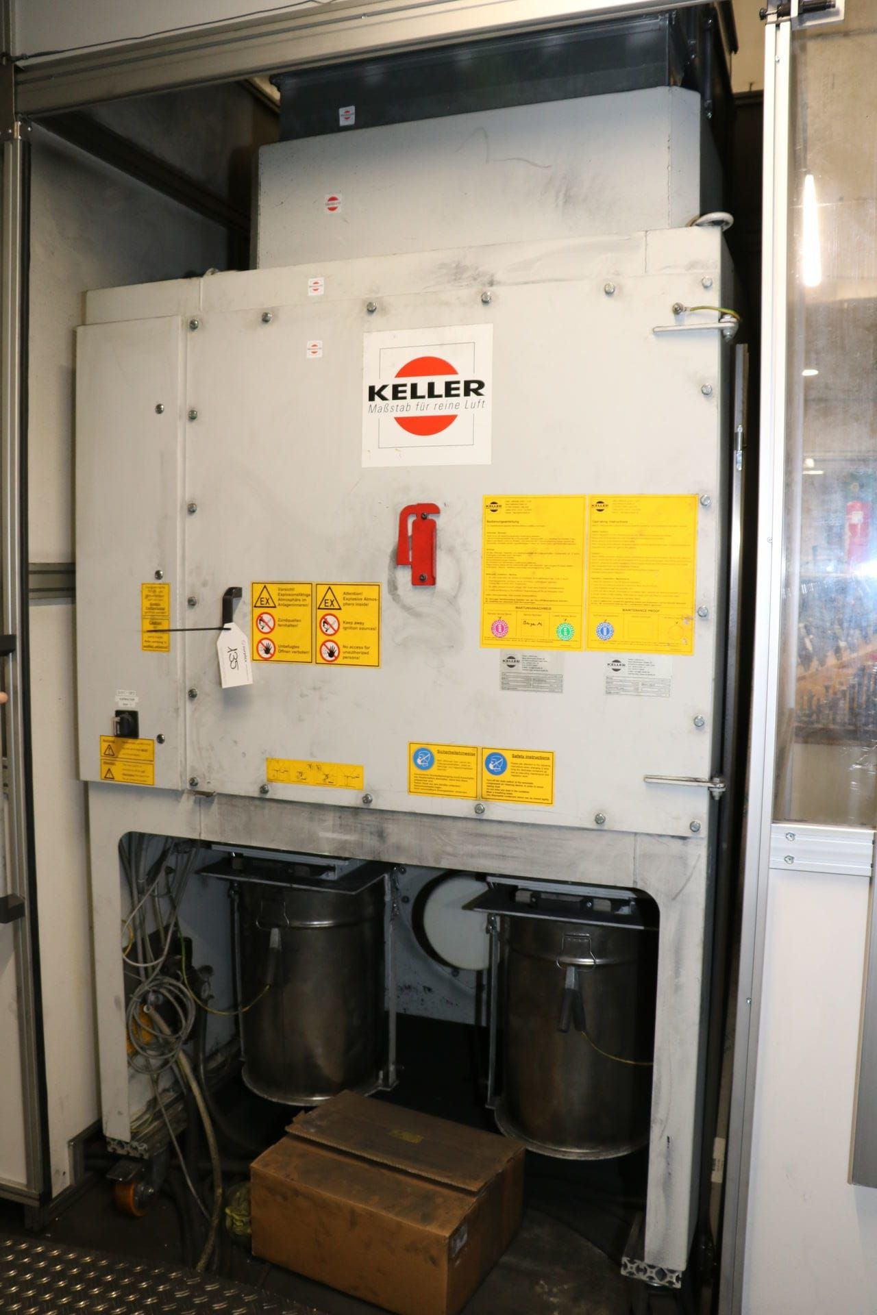 KELLER L-CUT-2-P 5- B 58- V-EX Absauganlage