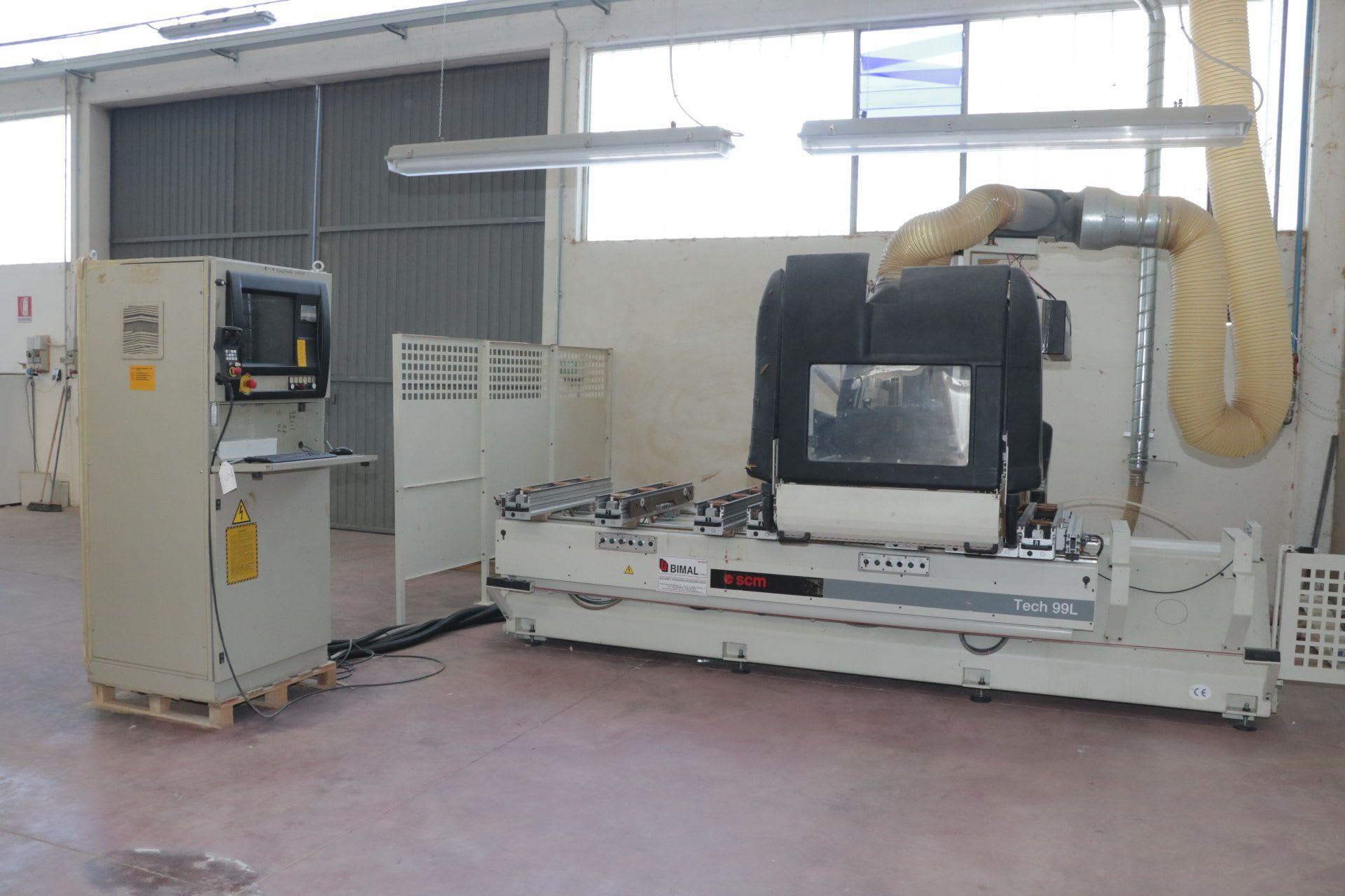SCM TECH 99 L CNC-Bearbeitungszentrum