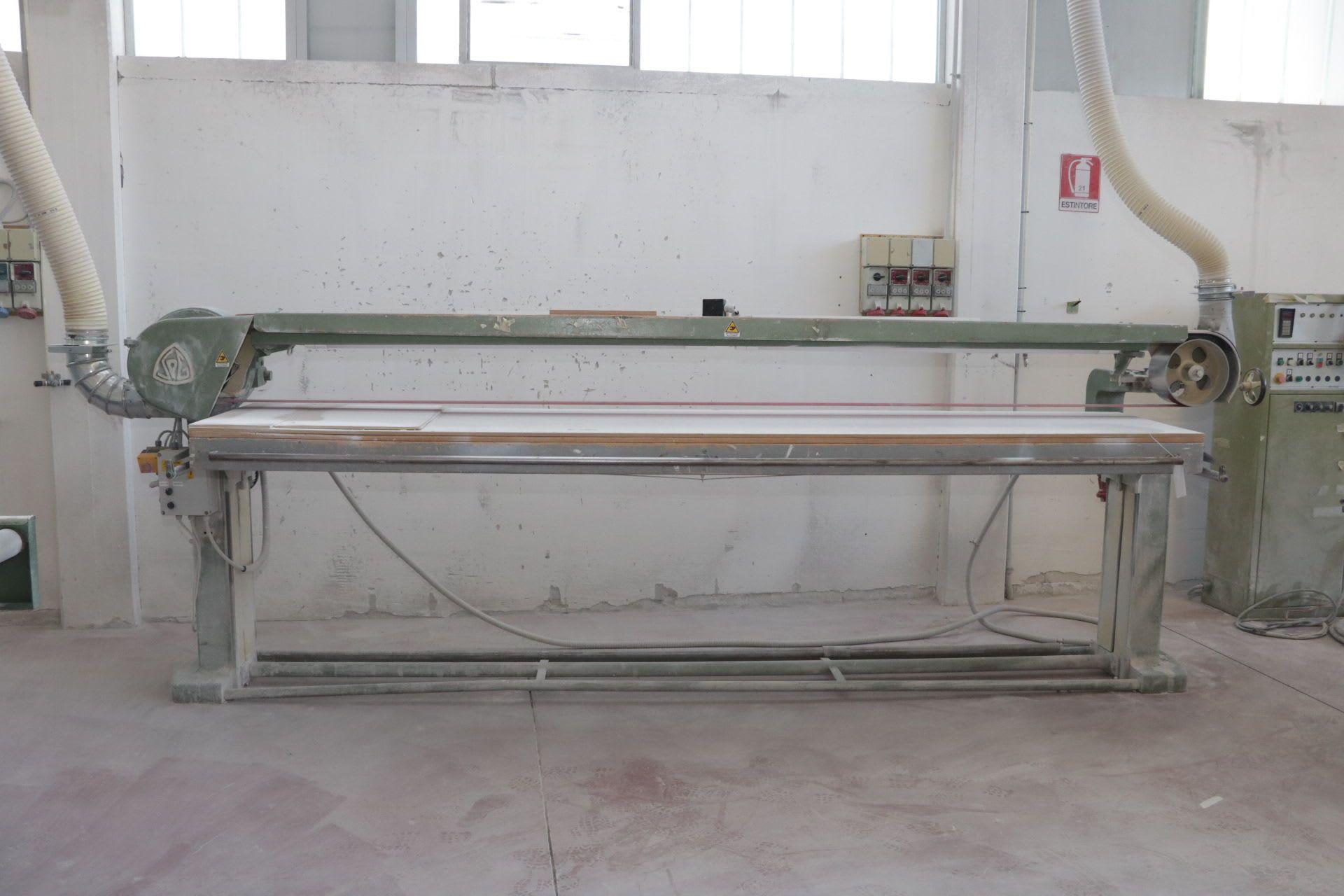 SPG Langbandschleifmaschine