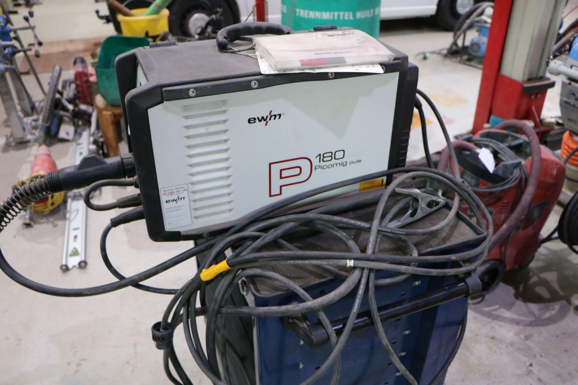 EWM PICOMIG 180 PLUS TGE Elektrodenschweißgerät