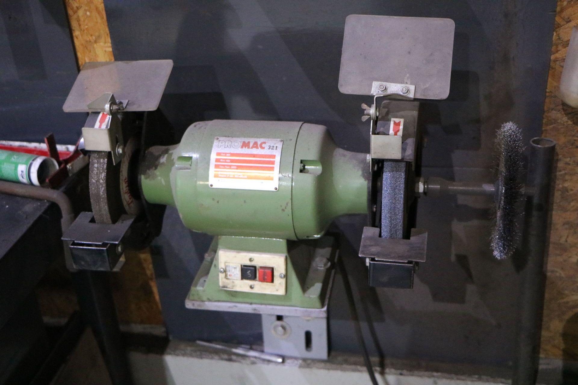 PROMAC 321 Schleifbock