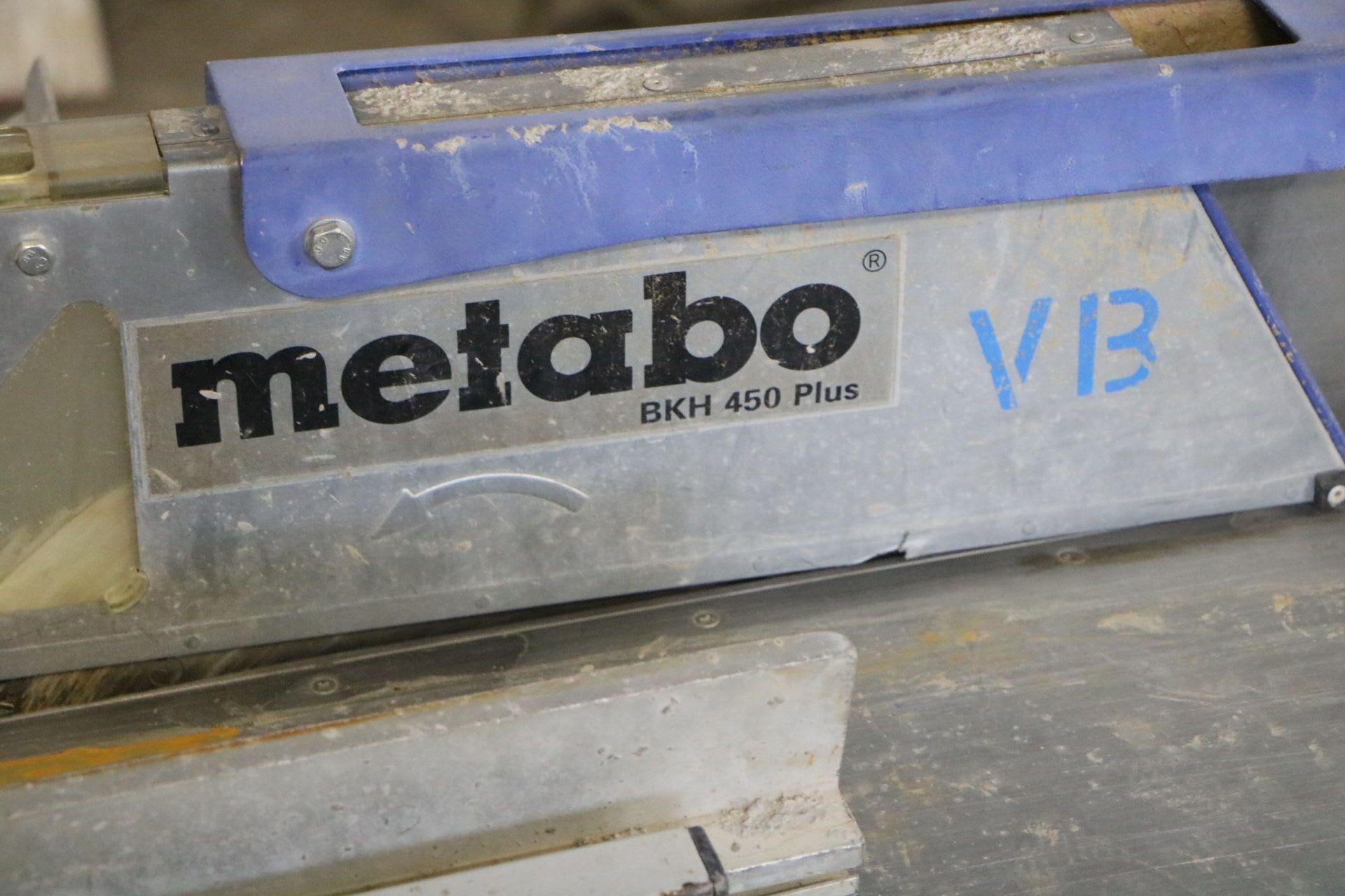 METABO BKH 450 PLUS Kreissäge