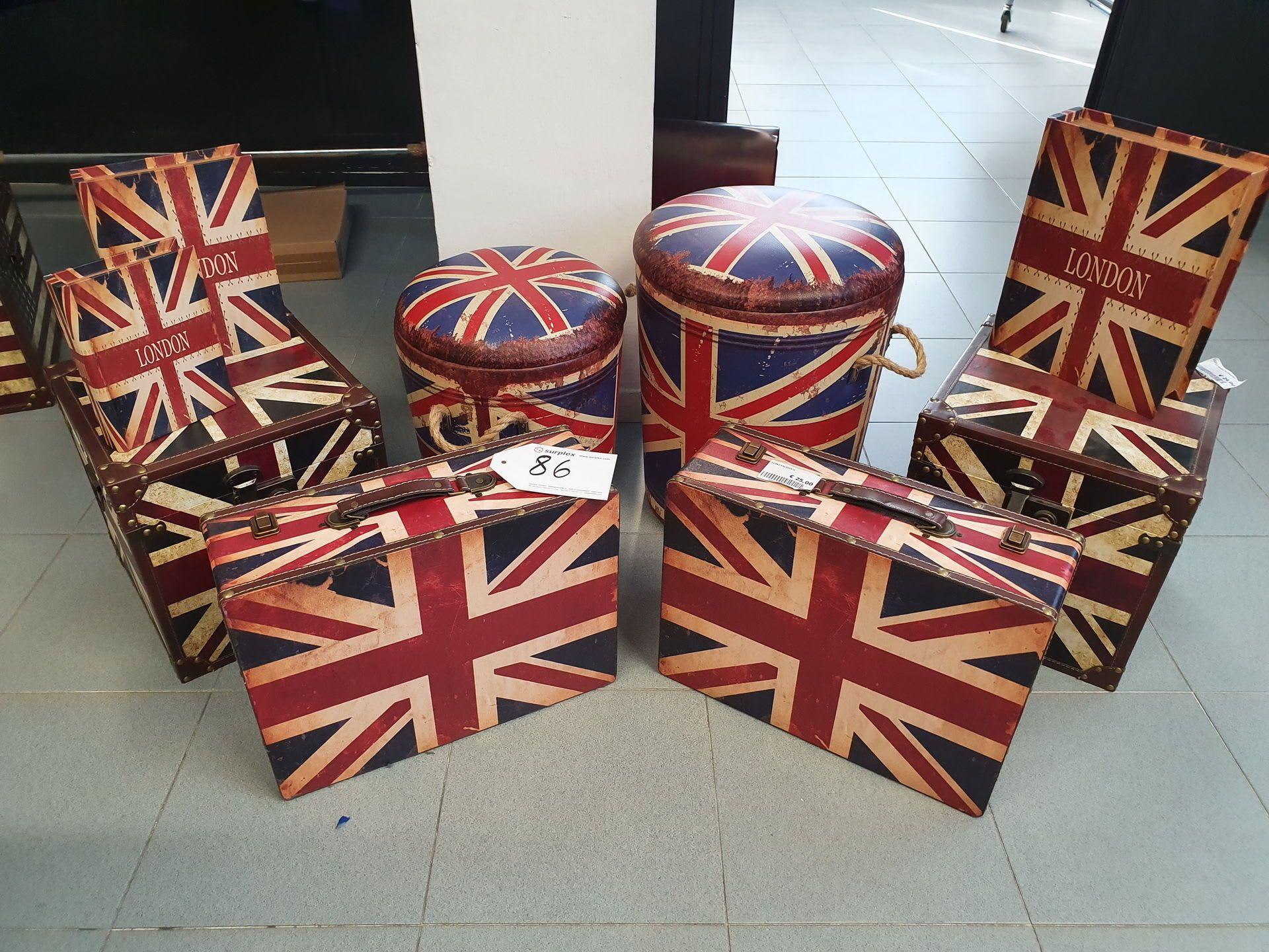 Posten Container im englischen Stil