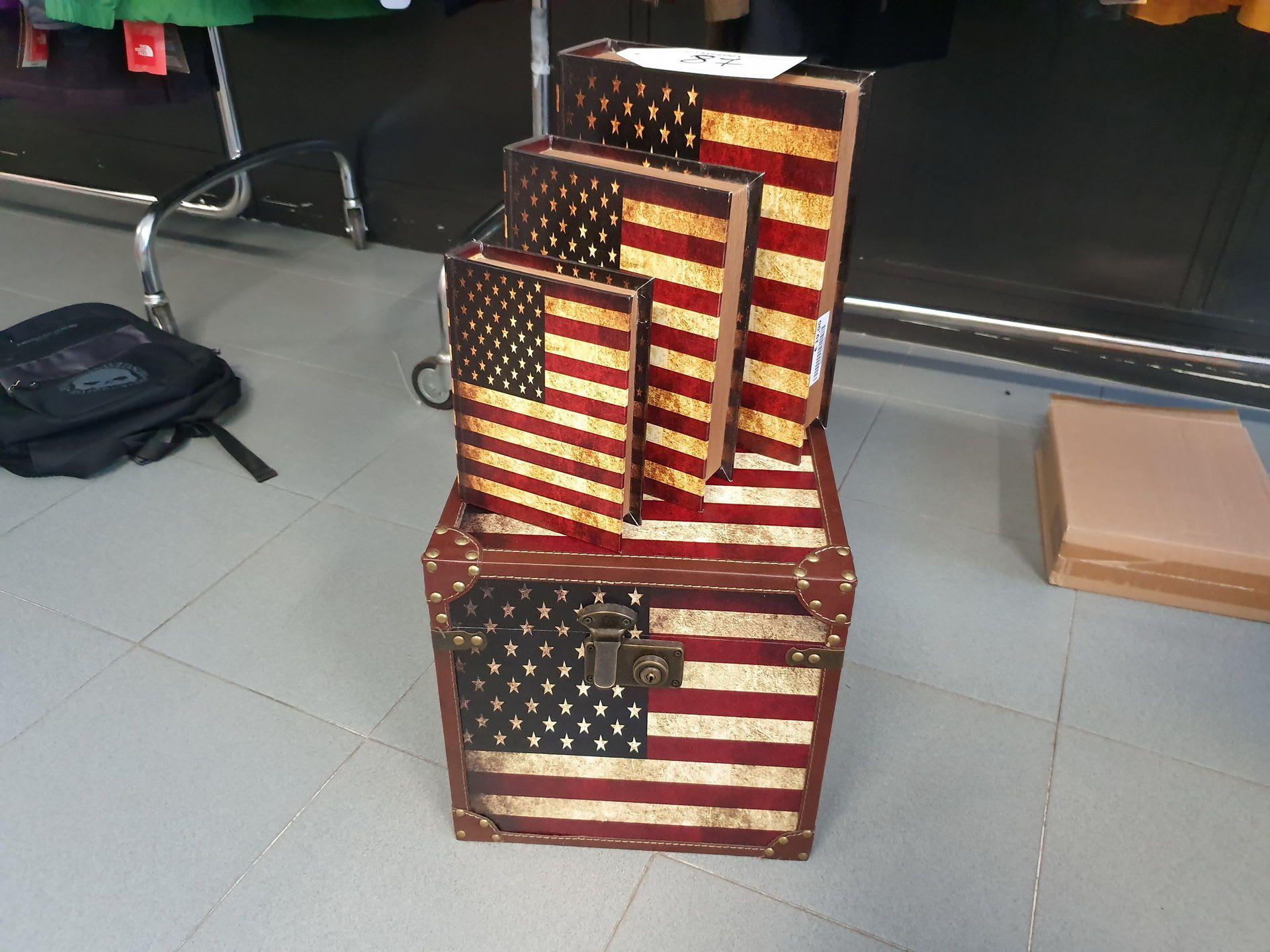 Posten Container nach amerikanischer Bauart