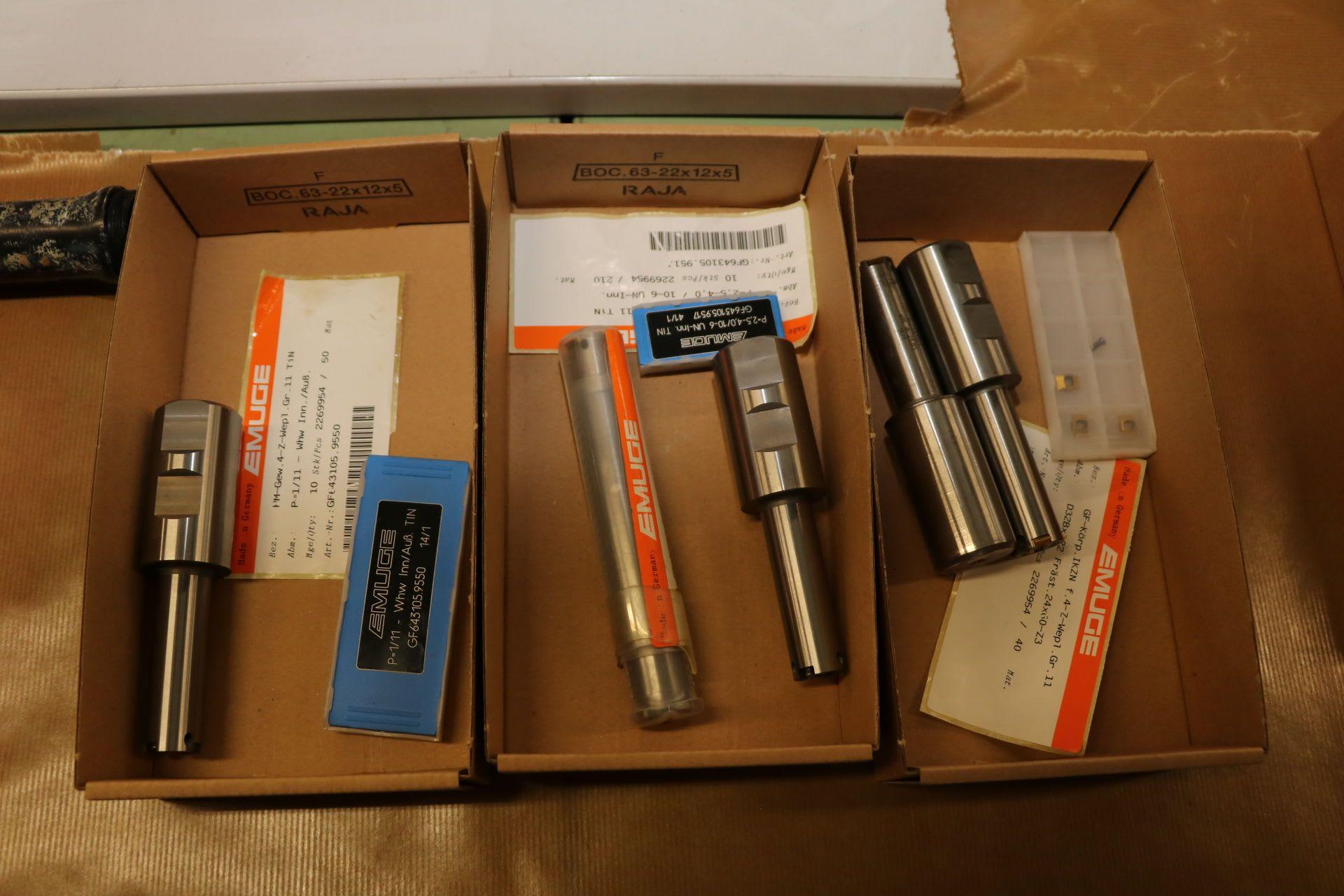 EMUGE Posten wendeplattenfräser mit Wendeplatten