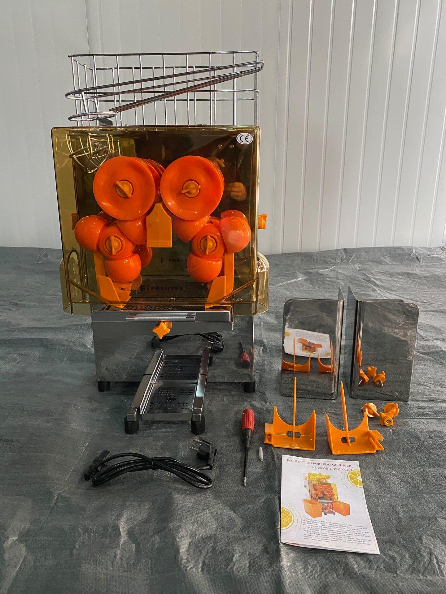 FREUTEK NEW0002 Automatischer Orangenentsafter