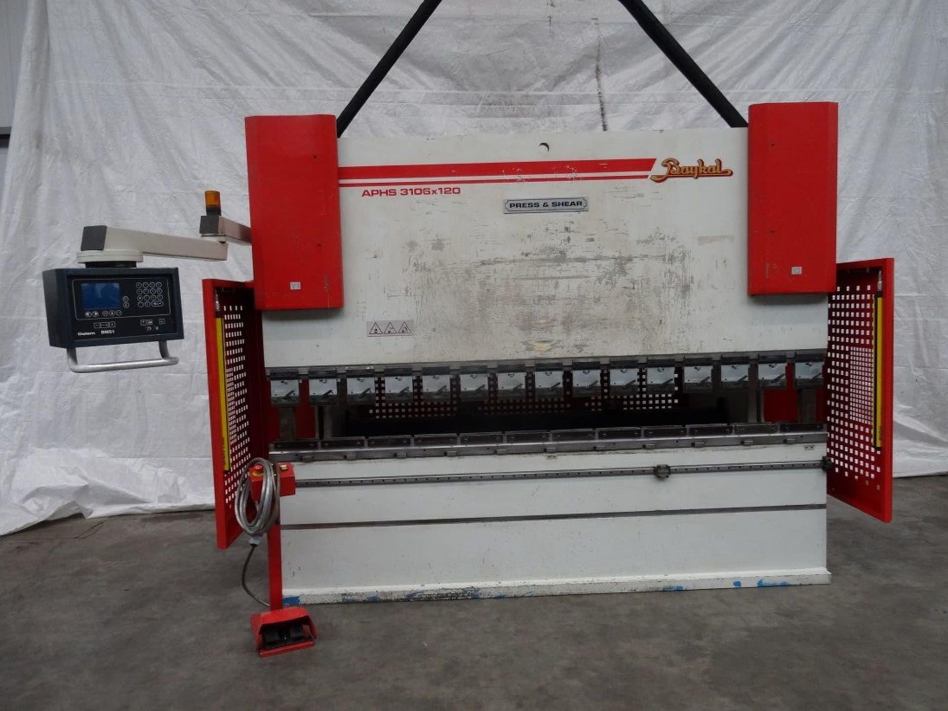 BAYKAL APHS 3106 120 CNC CNC Abkantpresse