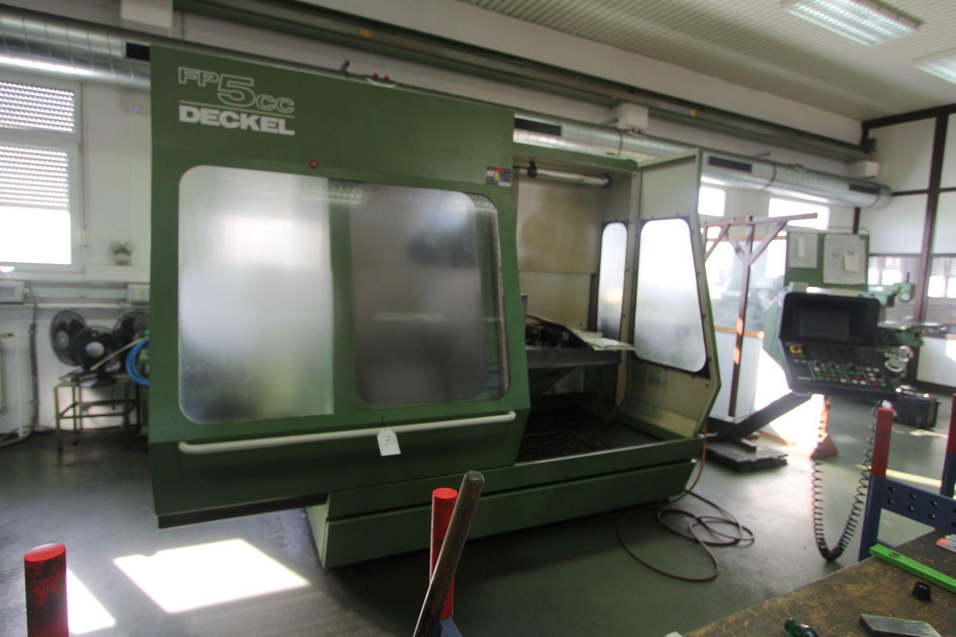 DECKEL FP 5 CC CNC Universal-Fräs- und Bohrmaschine