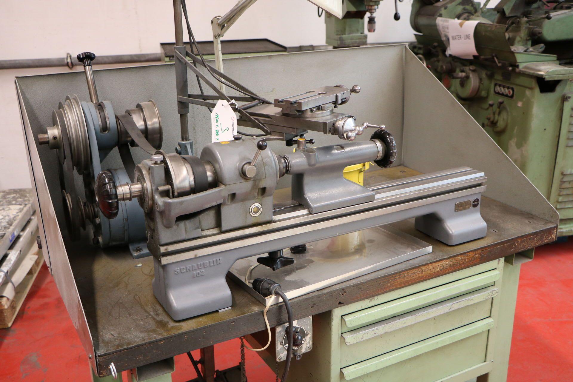 SCHAUBLIN 102 TO Leit- und Zugspindeldrehmaschine