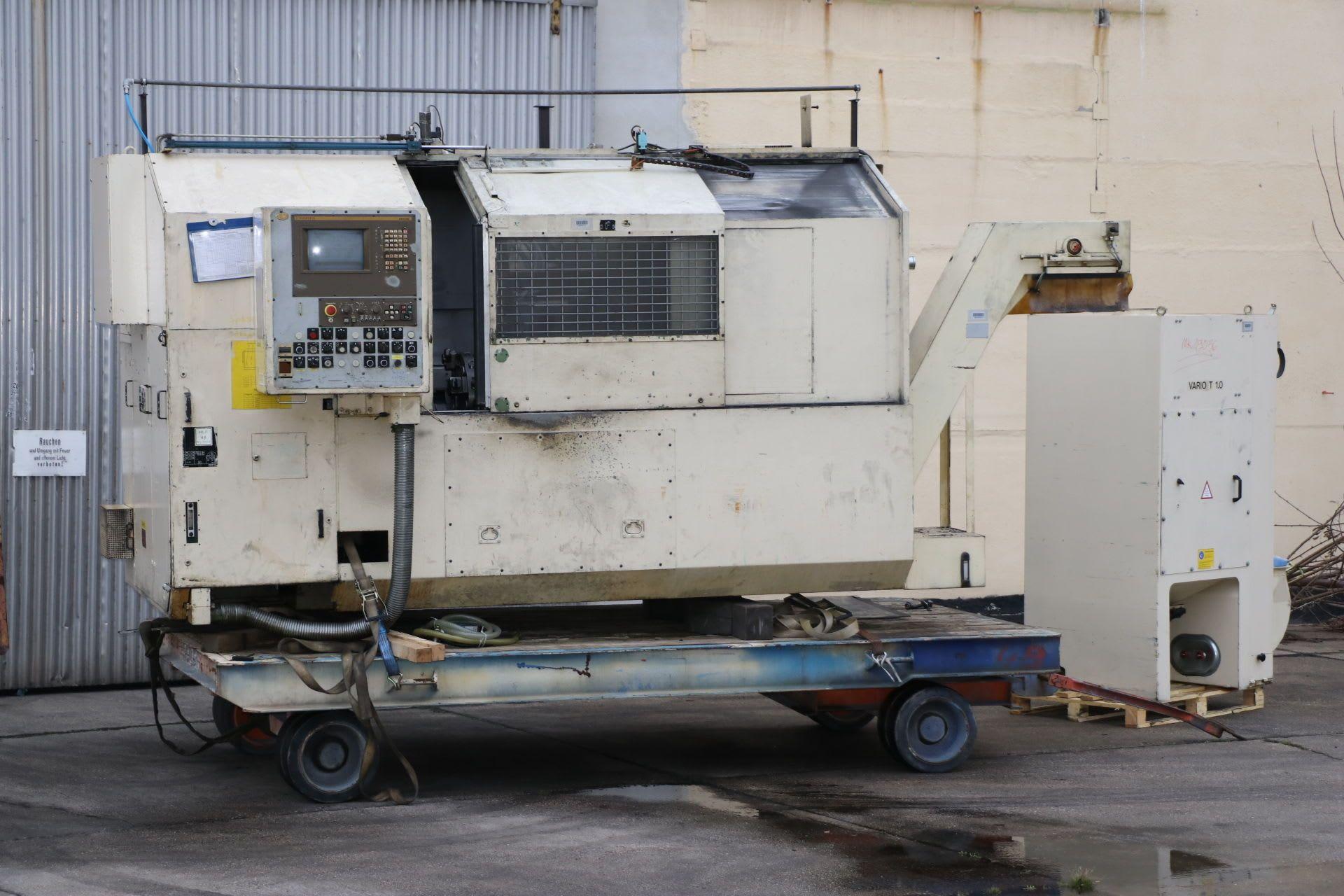 GEORG FISCHER NDM 16-4 / 80 CNC-Drehmaschine