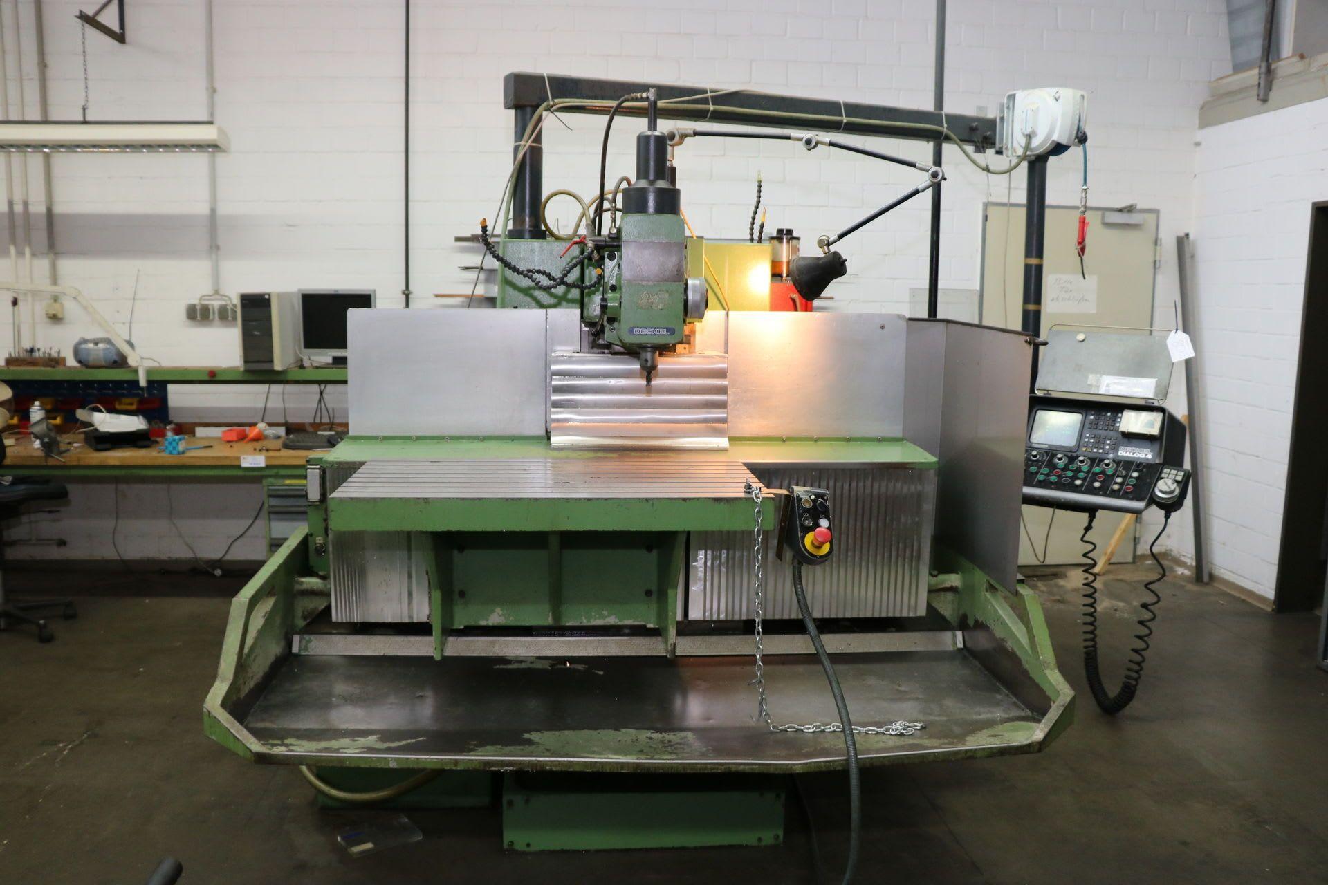 FRIEDRICH DECKEL FP 5 NC Werkzeugfräsmaschine