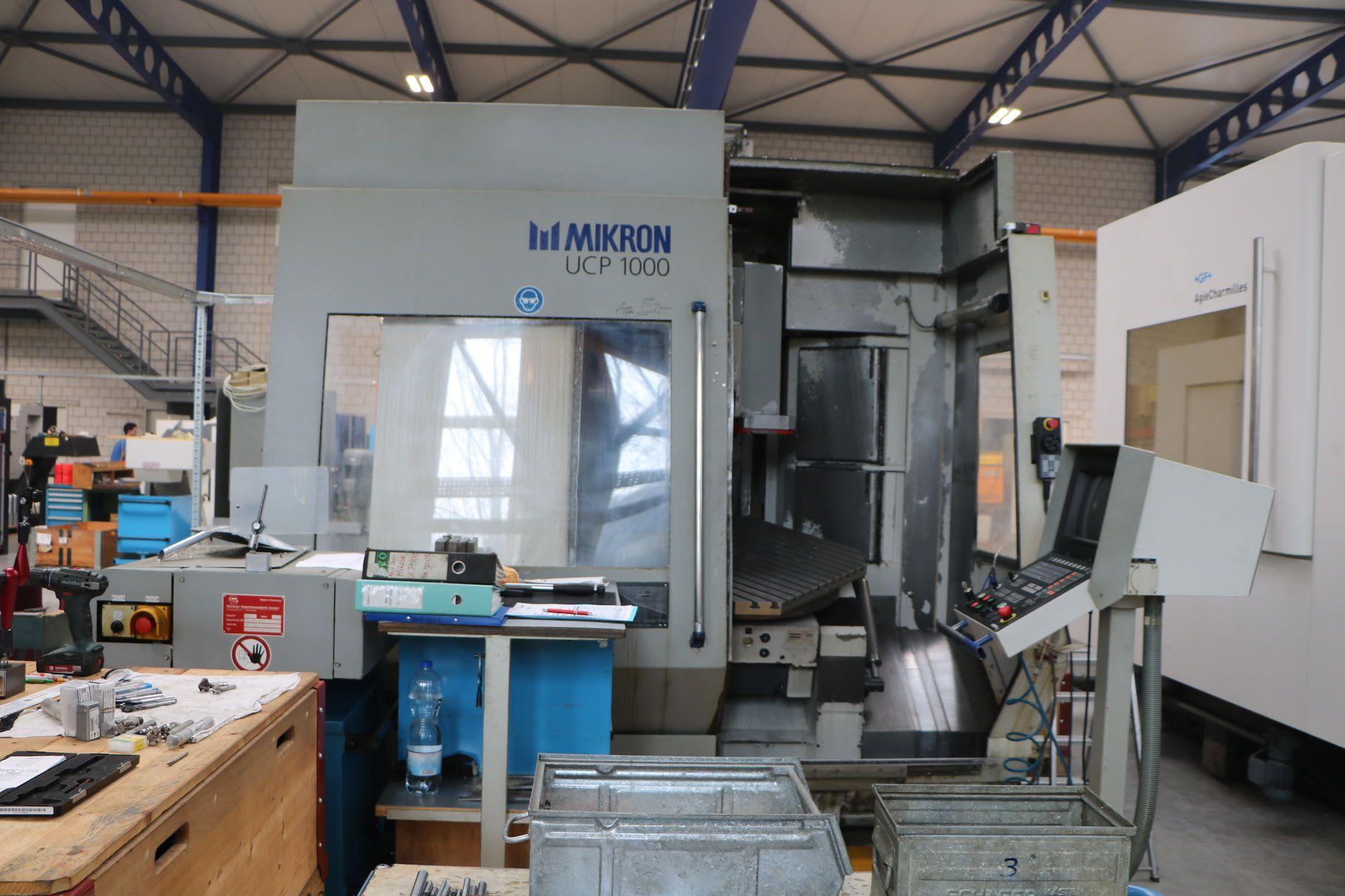 MIKRON UCP 1000 Vertikal - Fräsbearbeitungszentrum