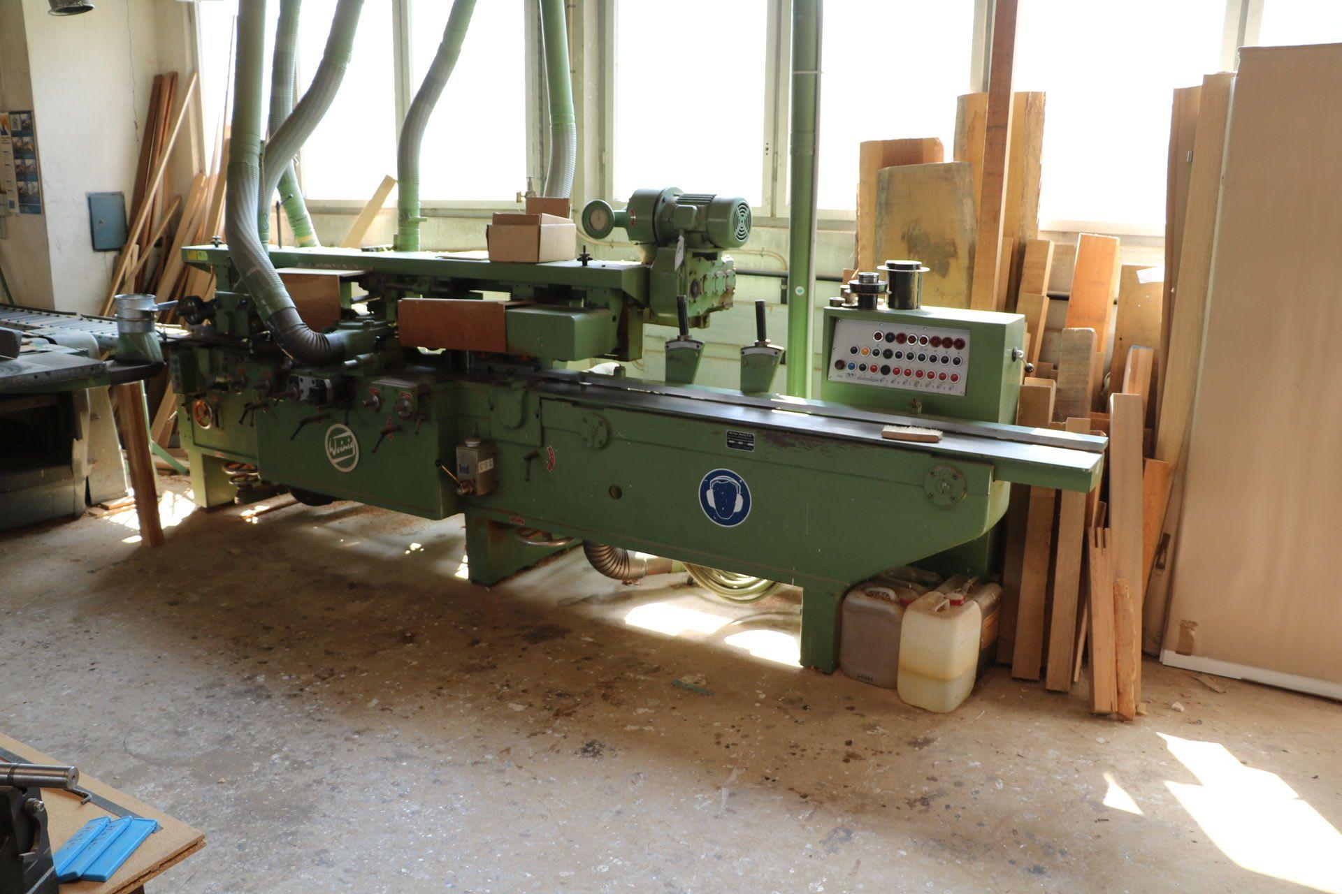 WEINIG PFA17 N Kehlmaschine