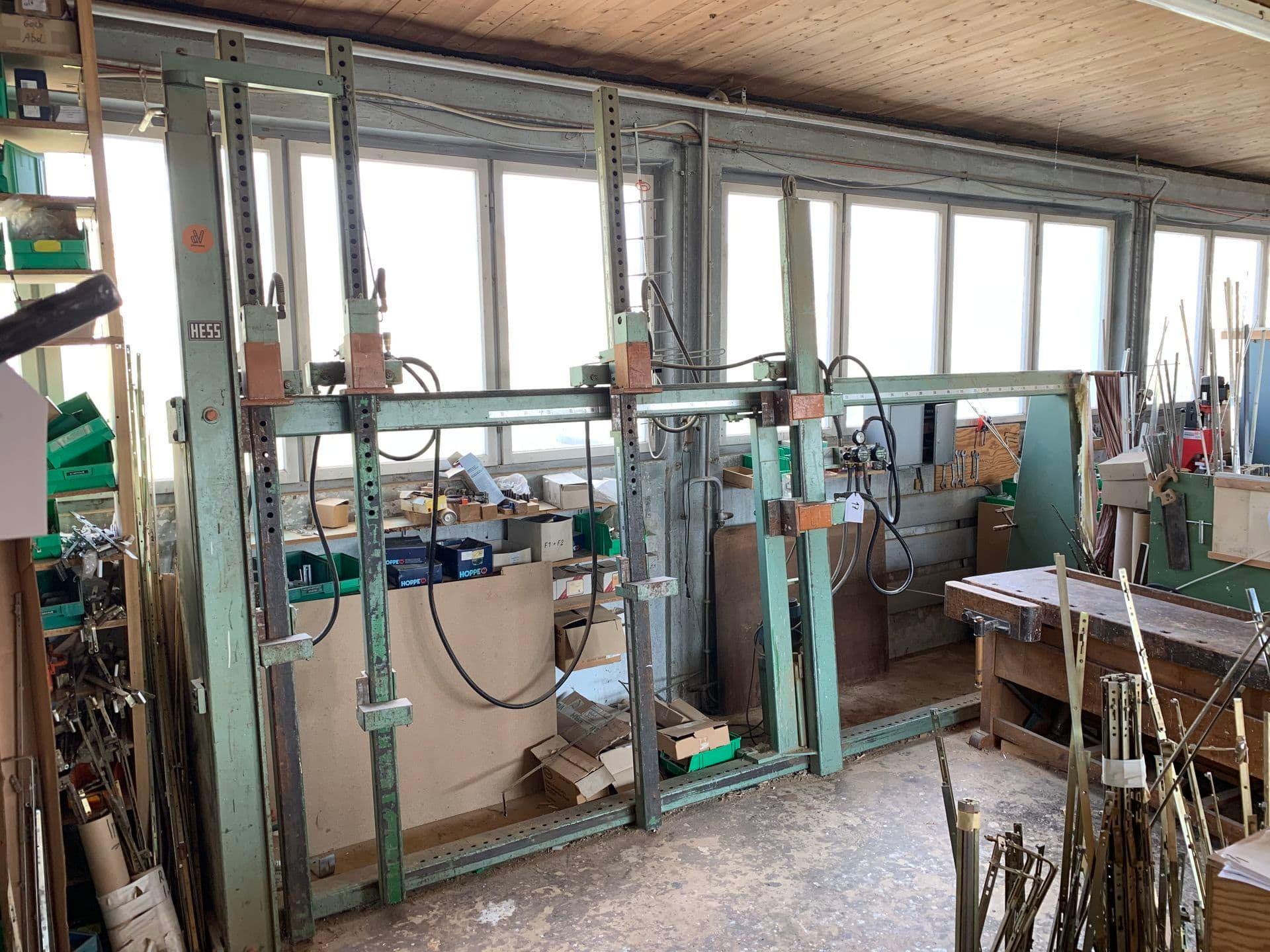 HESS Hidrolik Rahmenpresse