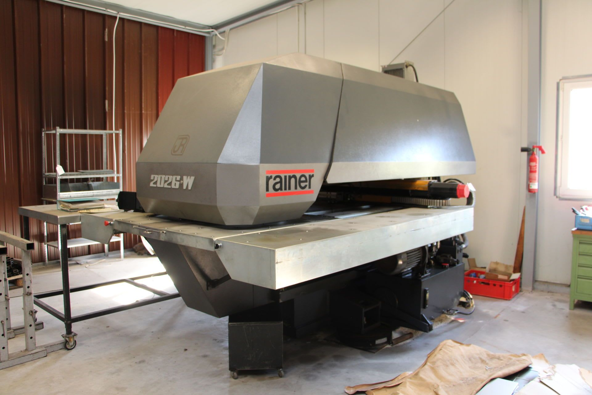 RAINER 2026 W CNC-Revolverstanzmaschine