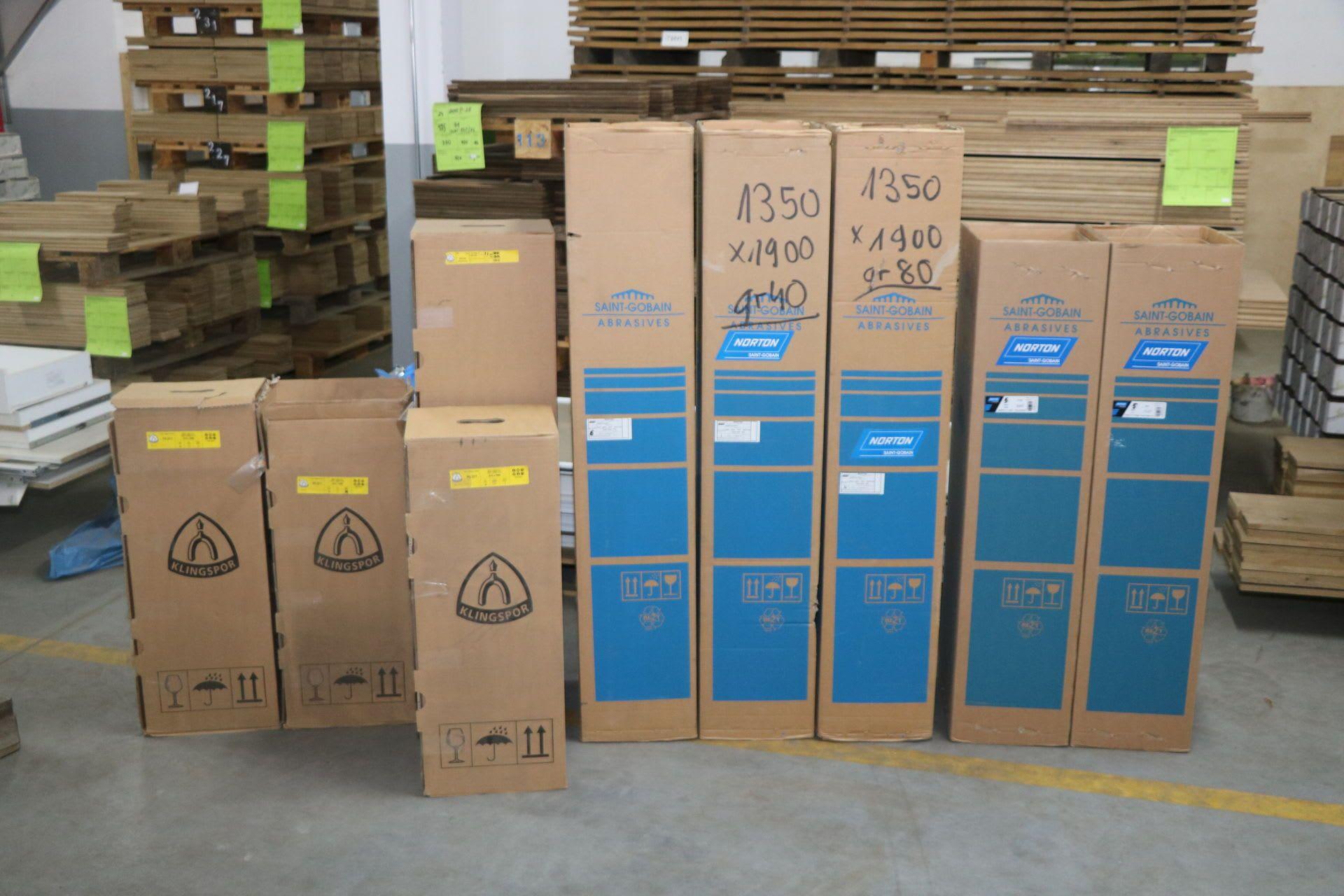 KLINGSPOR & SAINT-GOBAIN Posten Schleifbänder