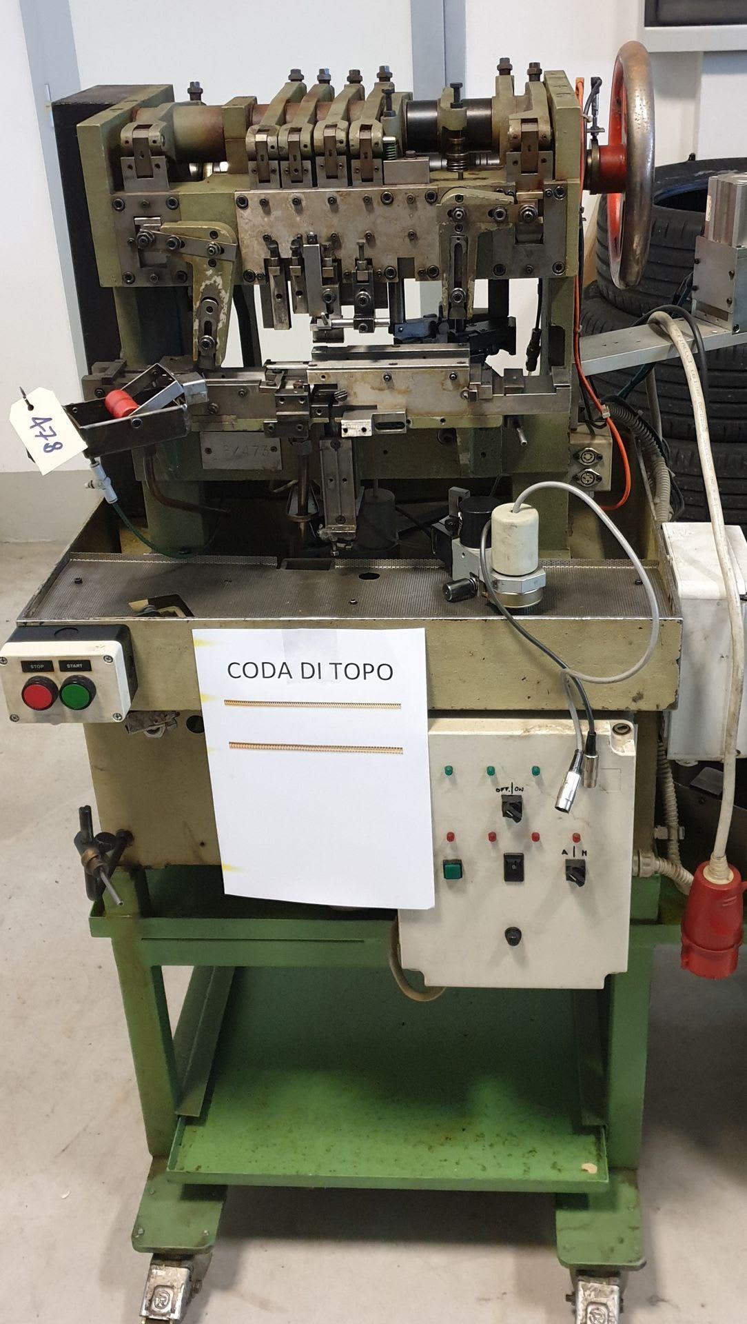 MGZ Maschine zur Herstellung von Schlangenketten