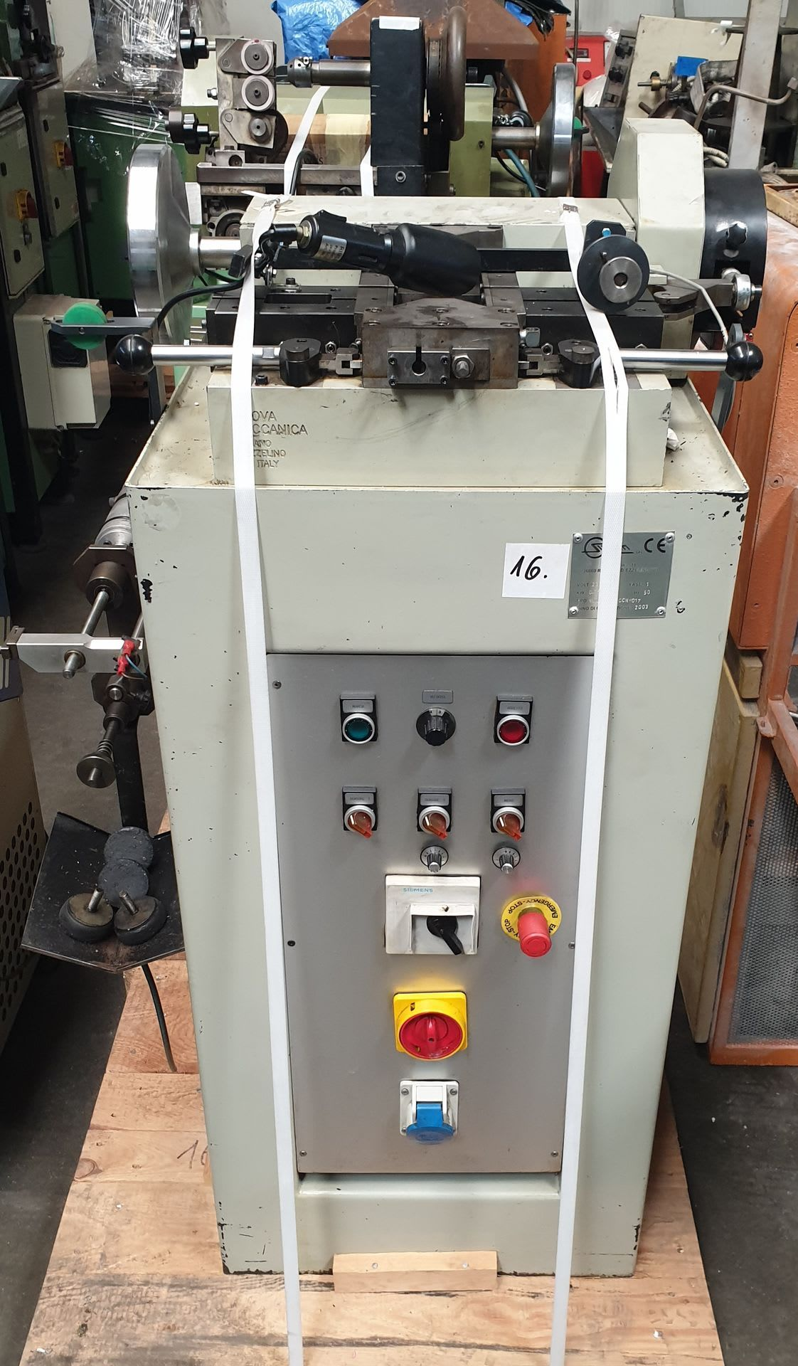 SILCOM NUOVA MECCANICA Kettenverdichtungsmaschine