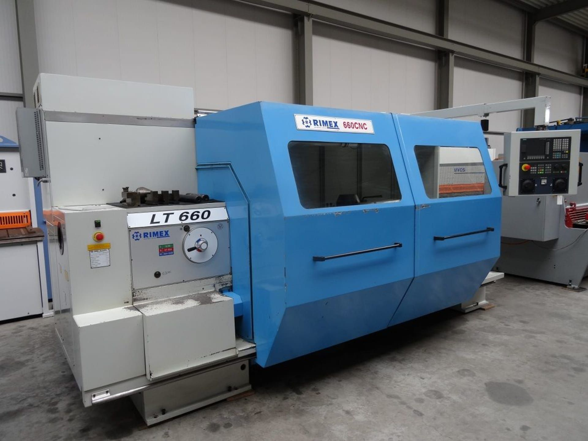 ZMM SLIVEN LT 660 CNC-Drehmaschine