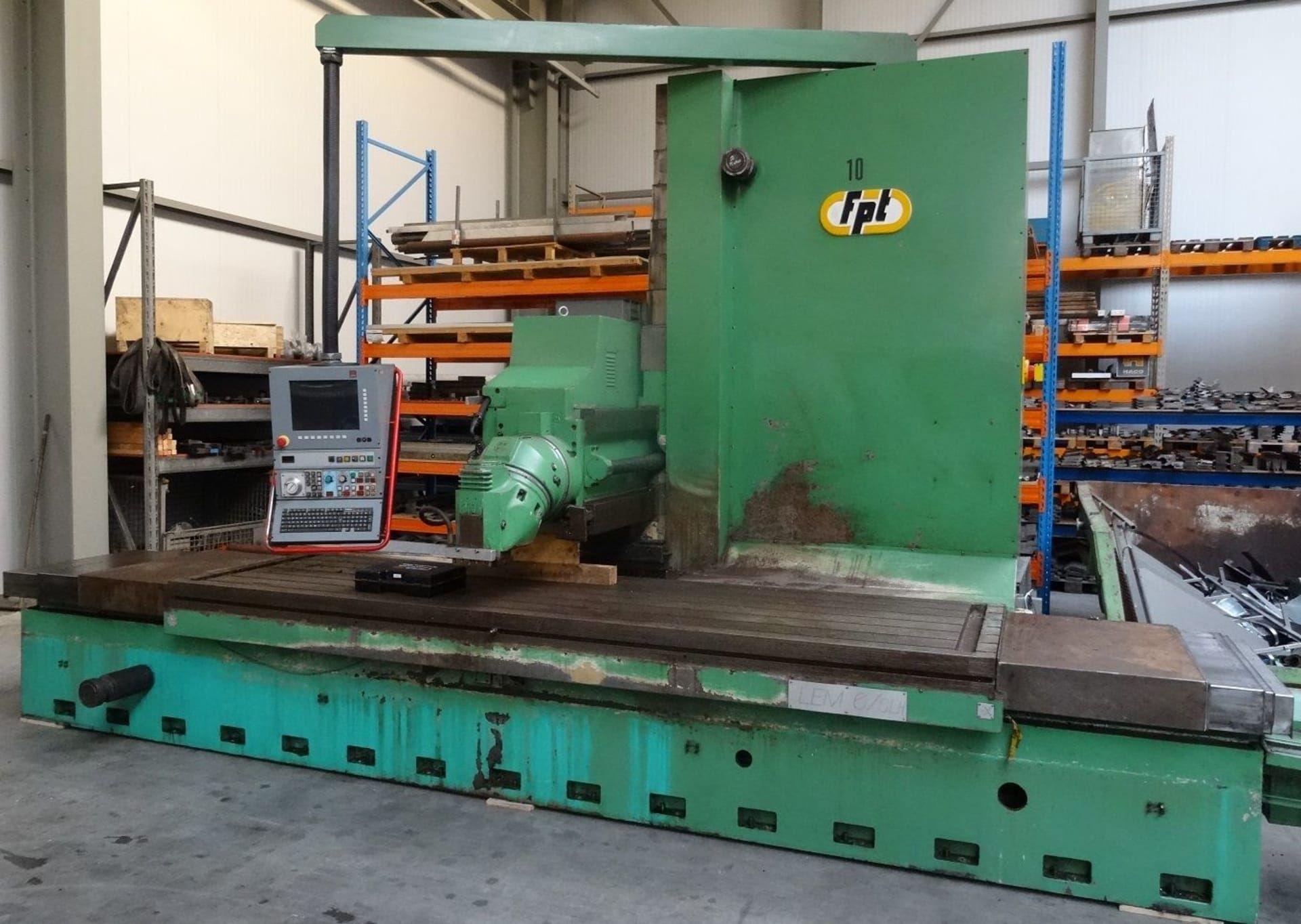 FPT LEM 6 SLH CNC-Fräsmaschine