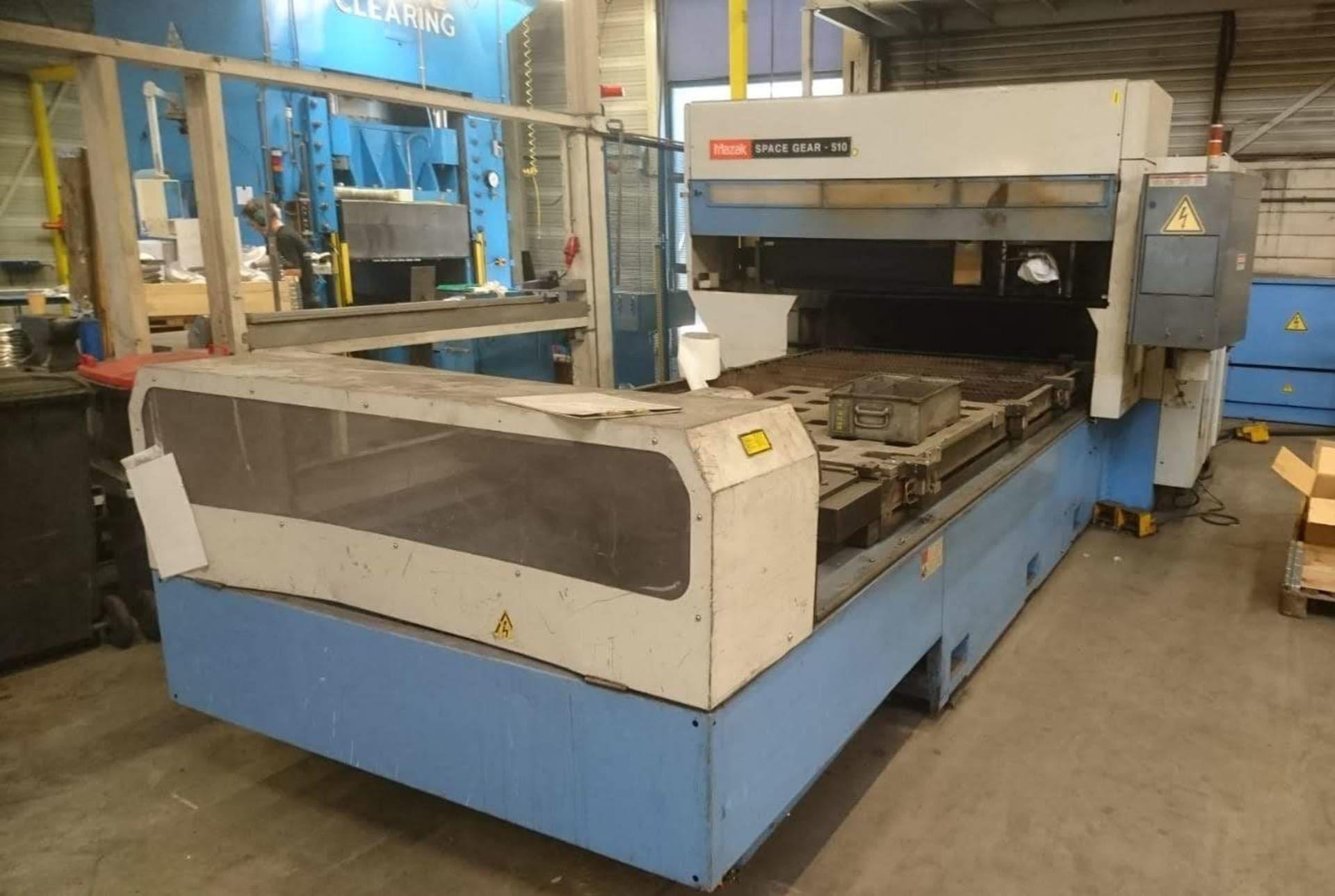MAZAK SPACEGEAR 510 CNC-3D-Laserschneidanlage