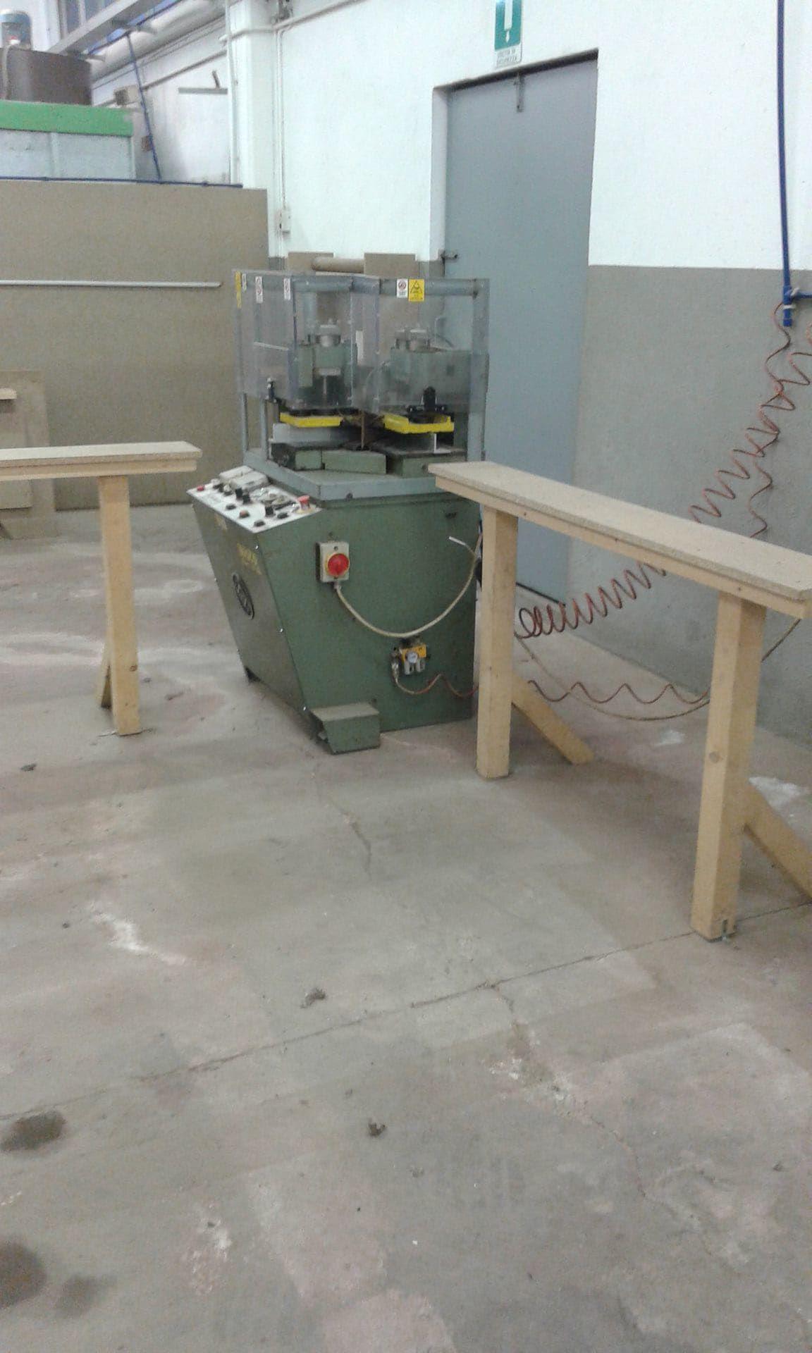 HASSOMAT NLV 1001 PVC-Winkelschweißmaschine