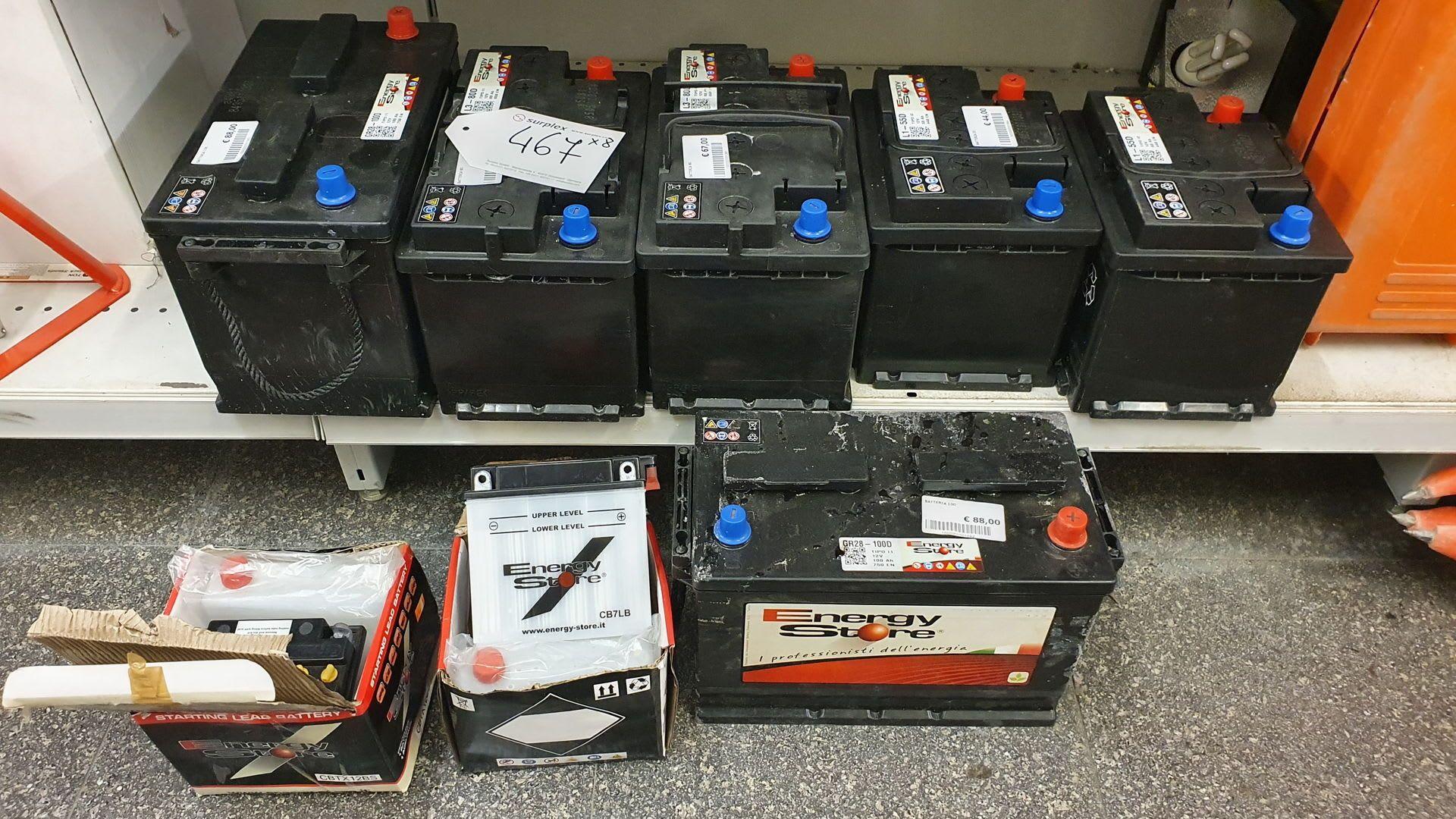 Posten Batterien