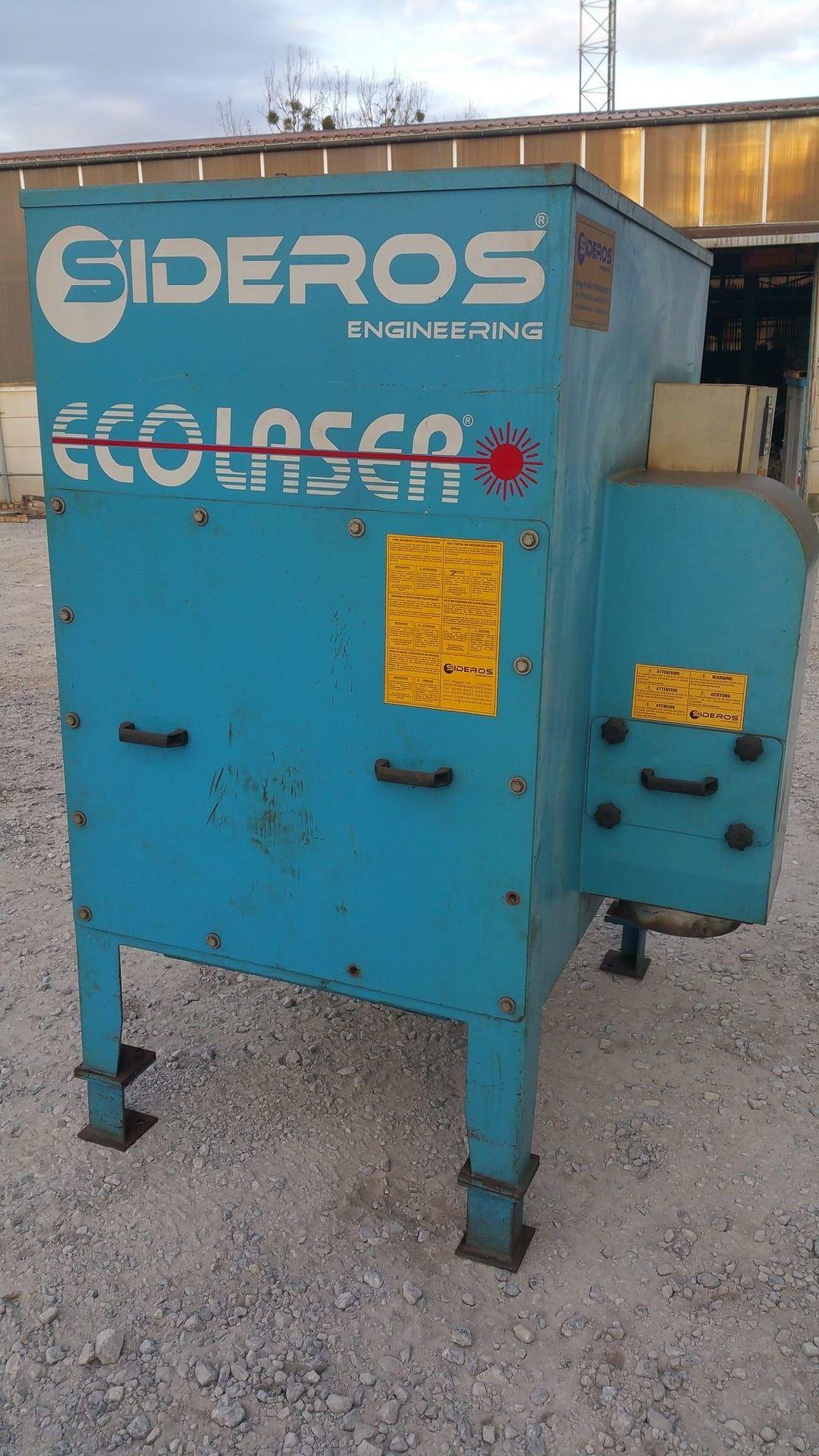 SIDEROS ECO 4 HC Patronensammler & Filtersystem