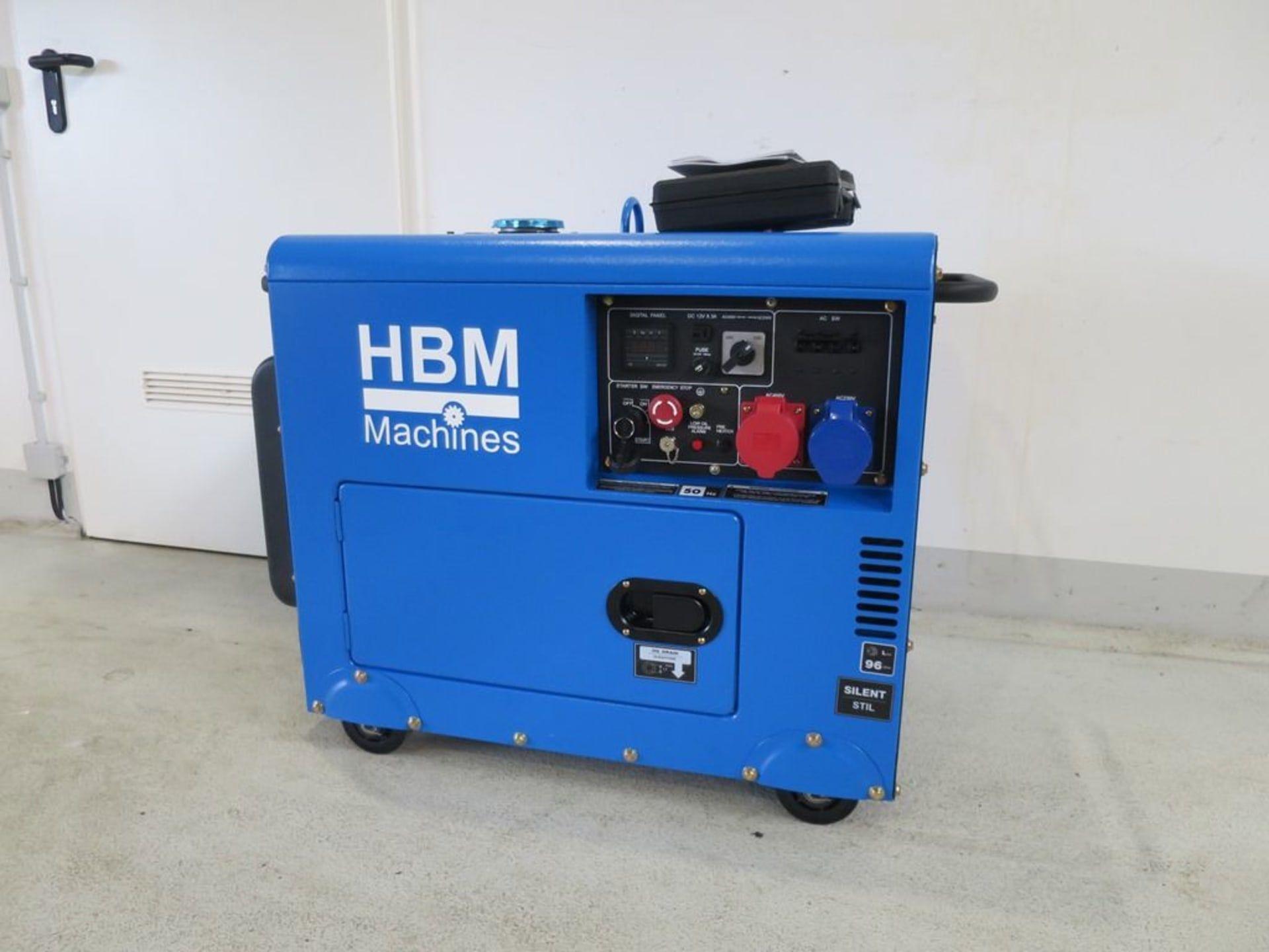HBM HBM 7900 Dizel Jeneratör