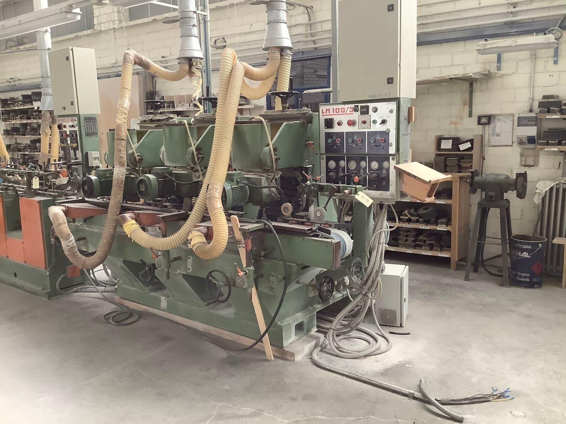 BALENCIAGA LM 100 3 Profil-Schleifmaschine