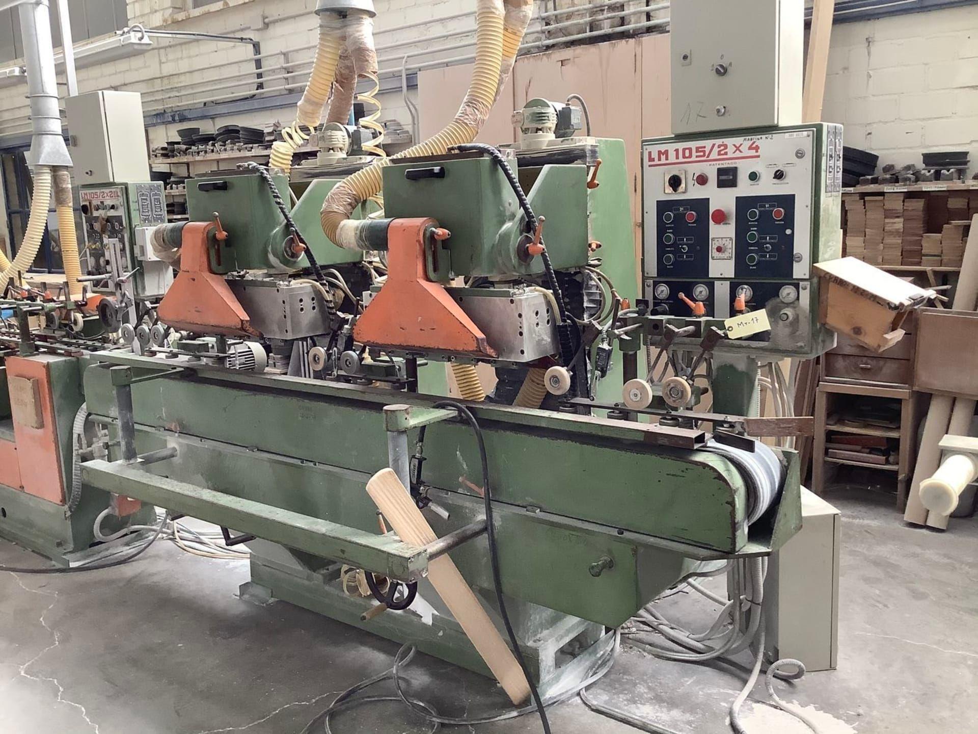 BALENCIAGA LM 105 2x4 Profilschleifmaschine