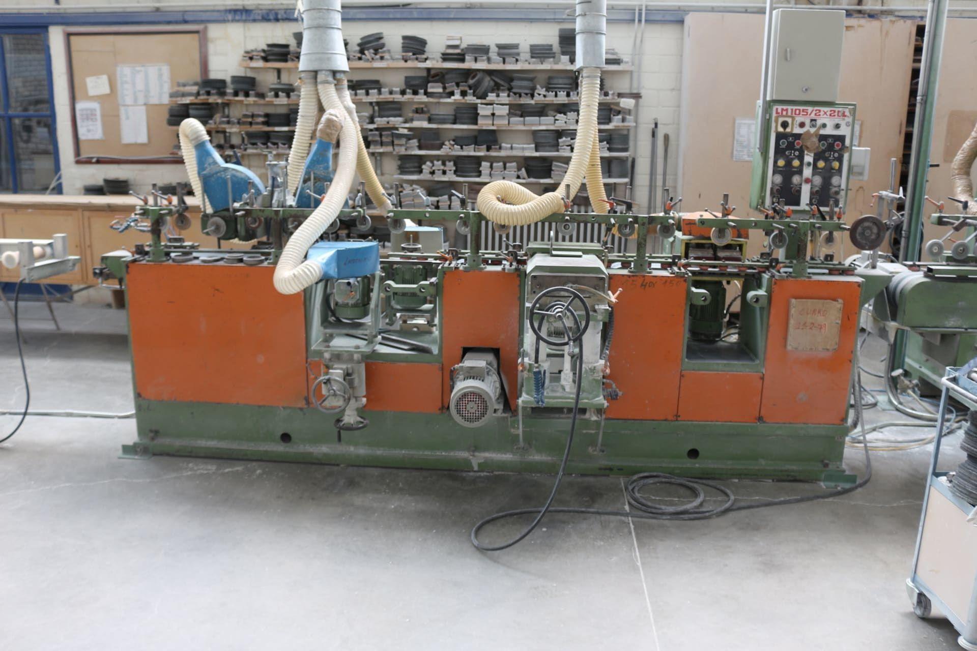 BALENCIAGA LM 105 2x2 CL Profil-Schleifmaschine