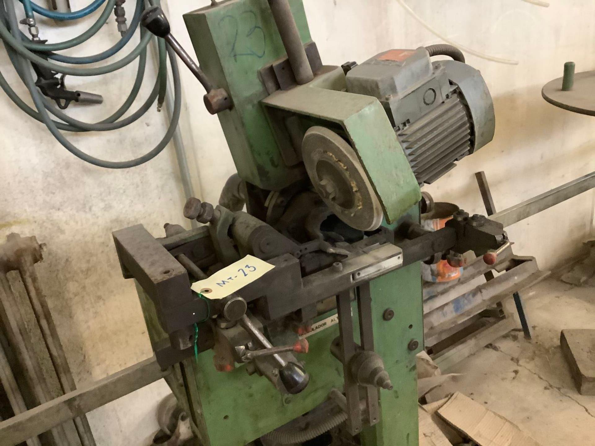 JOHUSE AFOR C Schärfmaschine für Bandsägeblätter