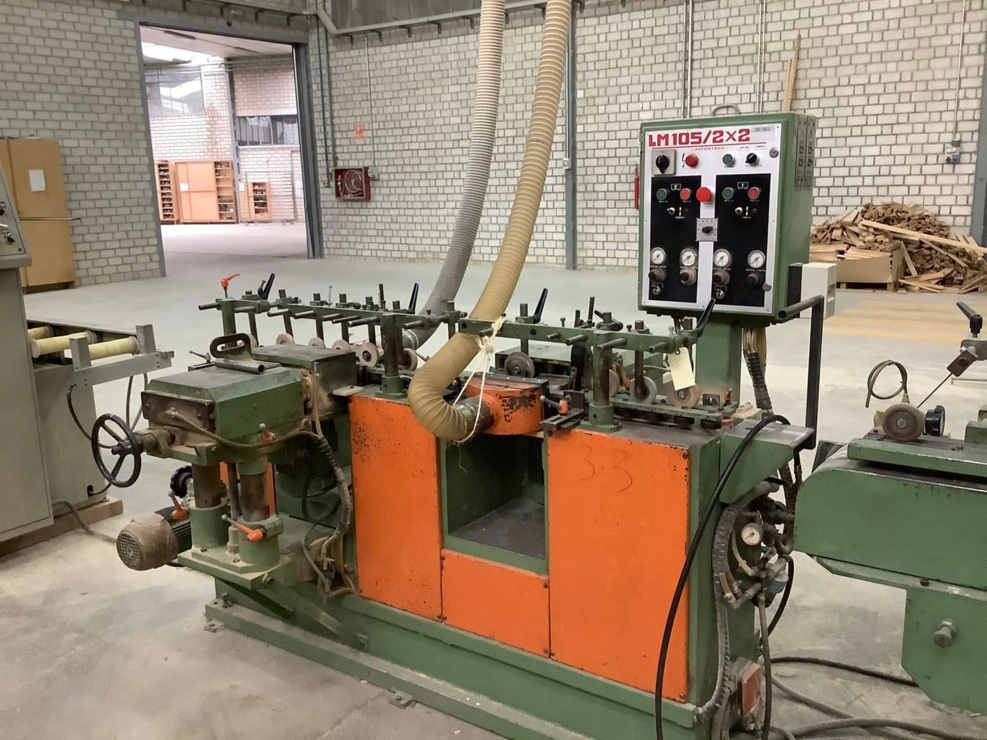 BALENCIAGA LM 105 2x2 Profilschleifmaschine
