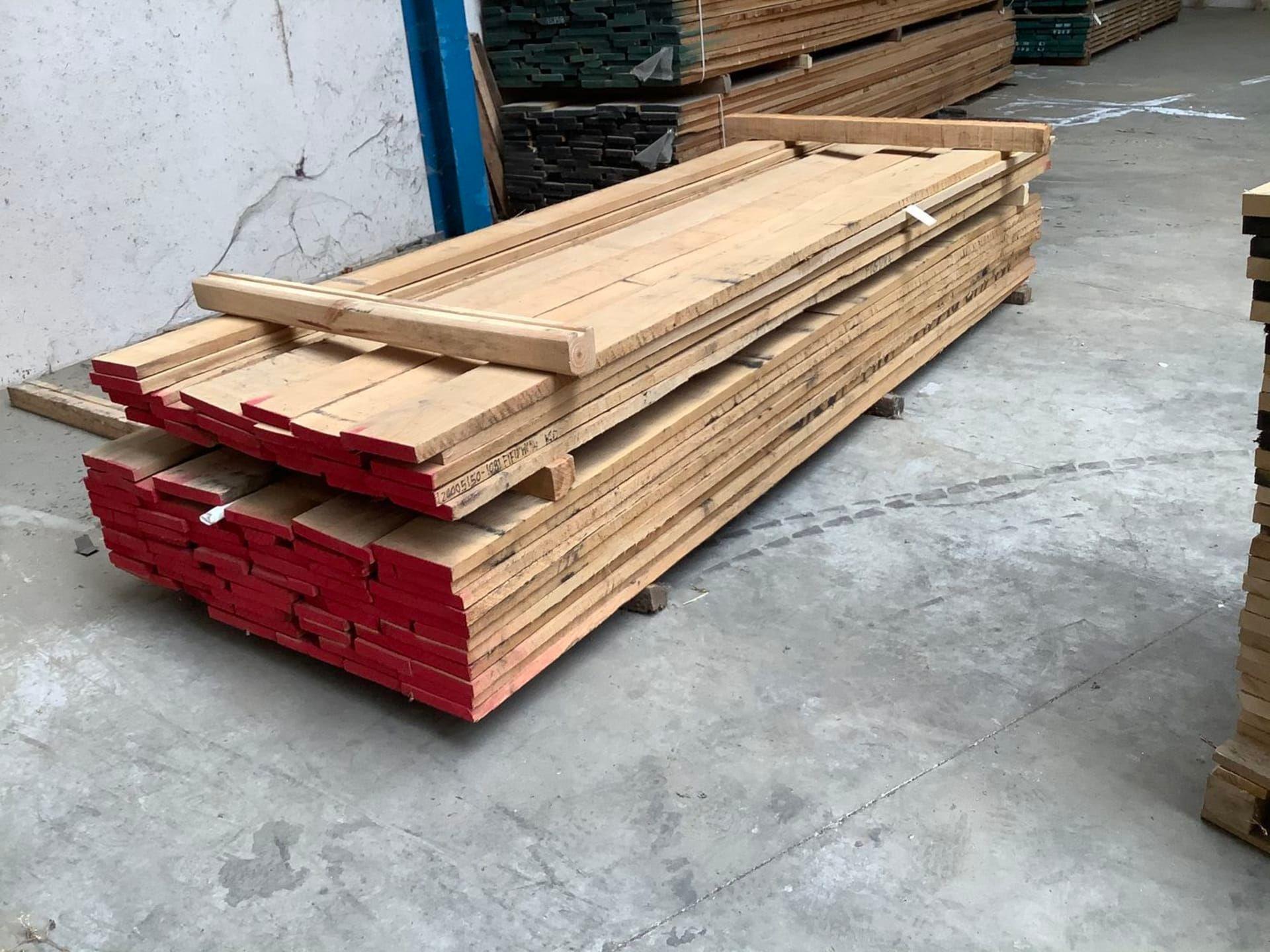 Posten amerikanisches Eichenholz