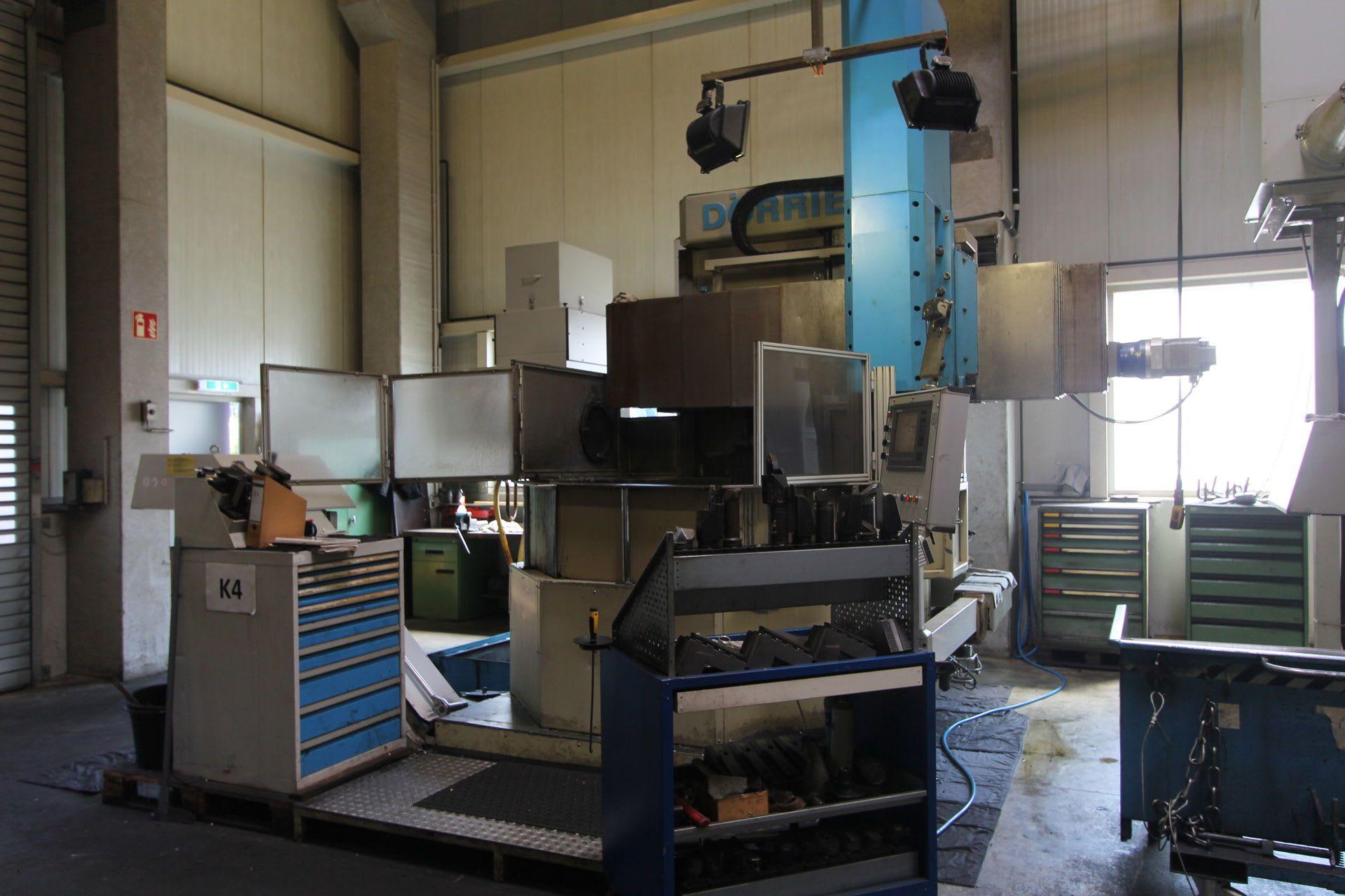 DÖRRIES SDE CNC-Karusselldrehmaschine