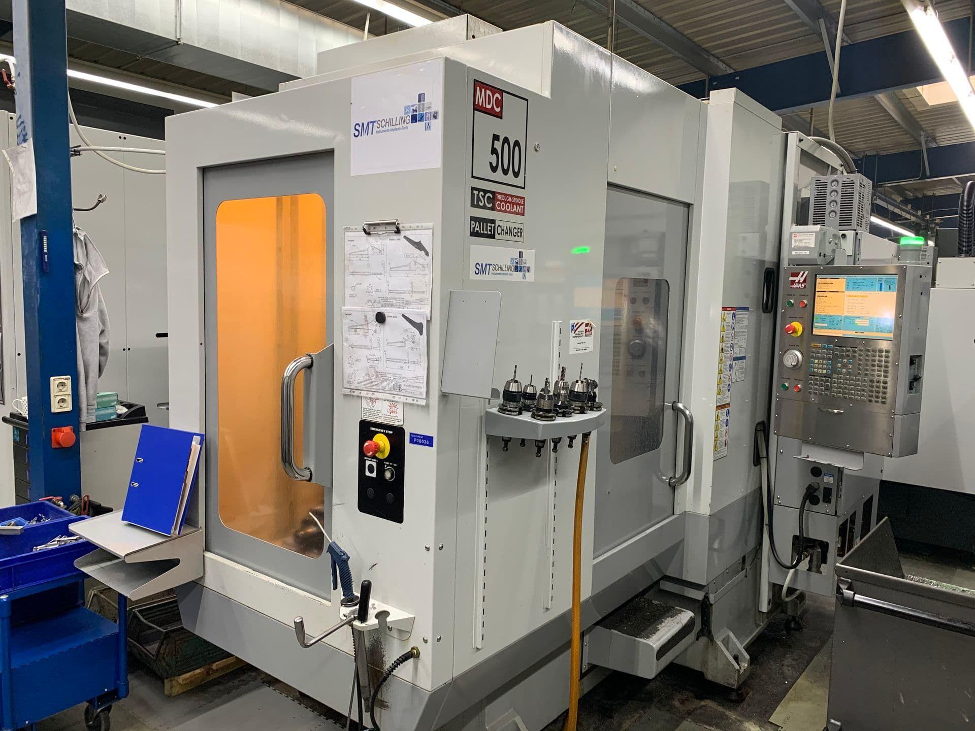 HAAS MDC 500 HE CNC Bohrfräszentrum