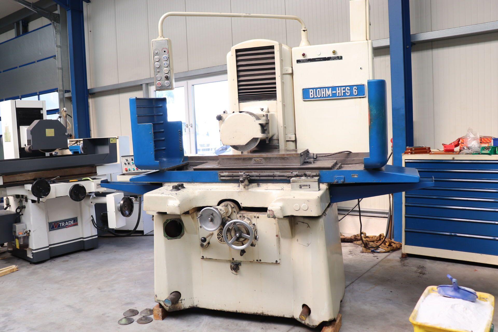 BLOHM HFS 6 Flachschleifmaschine
