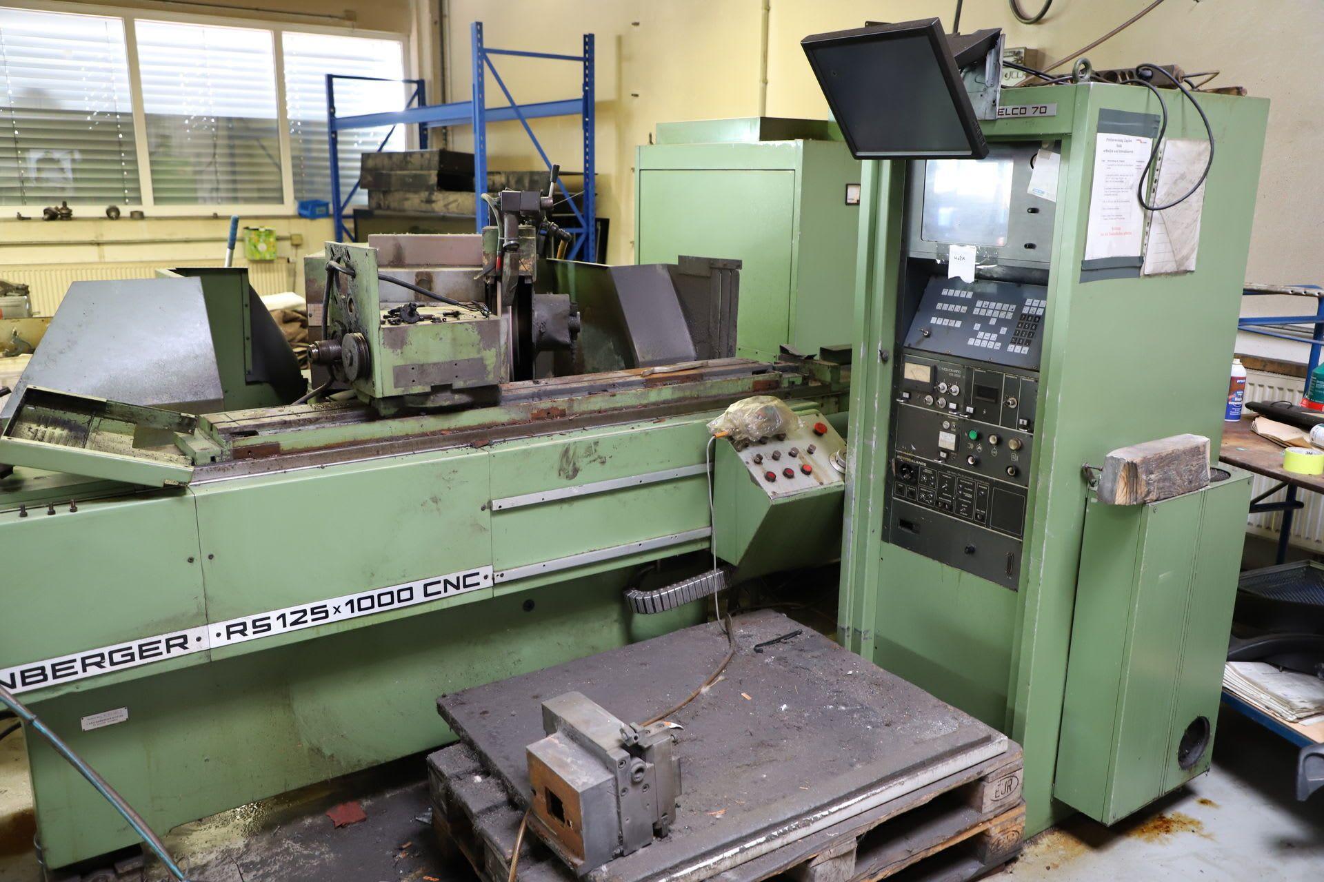 KELLENBERGER RS 125 x 1000 CNC CNC Rundschleifmaschine