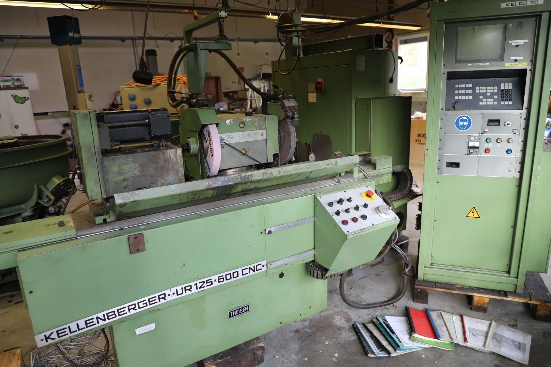 KELLENBERGER UR 125 x 600 CNC Rundschleifmaschine