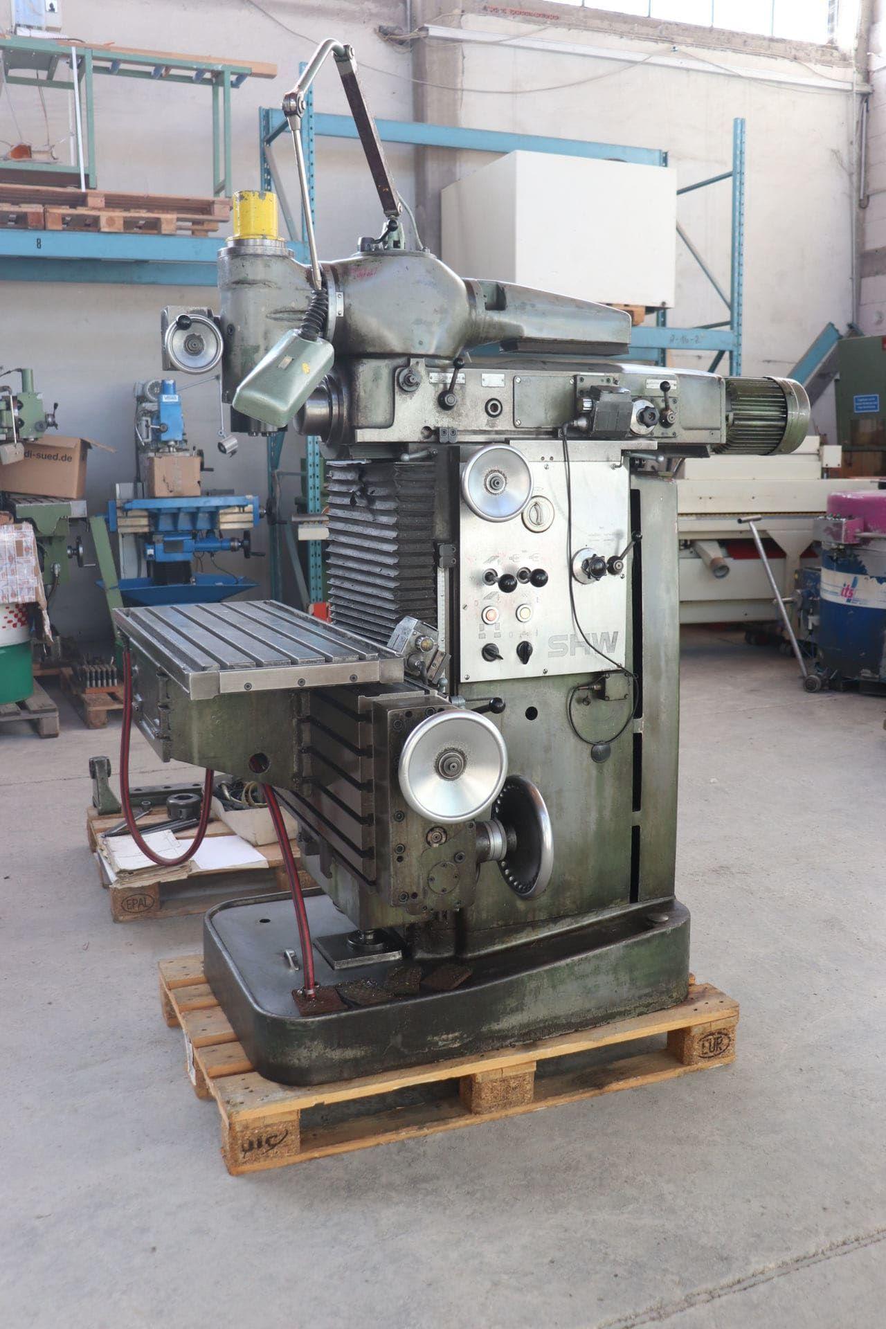 SHW UF 1 Werkzeugfräsmaschine