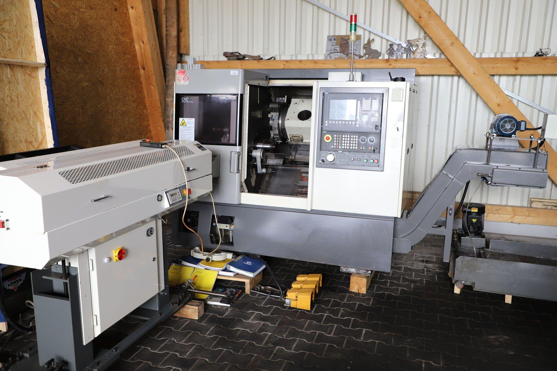 HWACHEON CUTEX 240 CNC-Drehmaschine