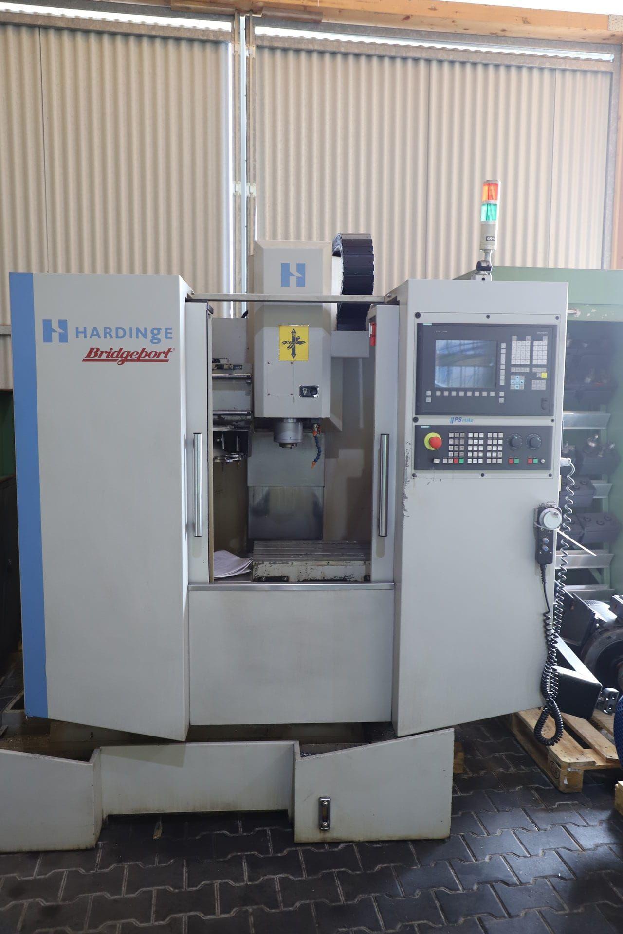 BRIDGEPORT HARDINGE INT 450 P CNC-Bearbeitungszentrum